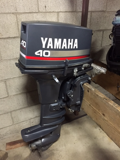 Yamaha 40 Hp 1996 Van S Sport Center Used Outboard Motors