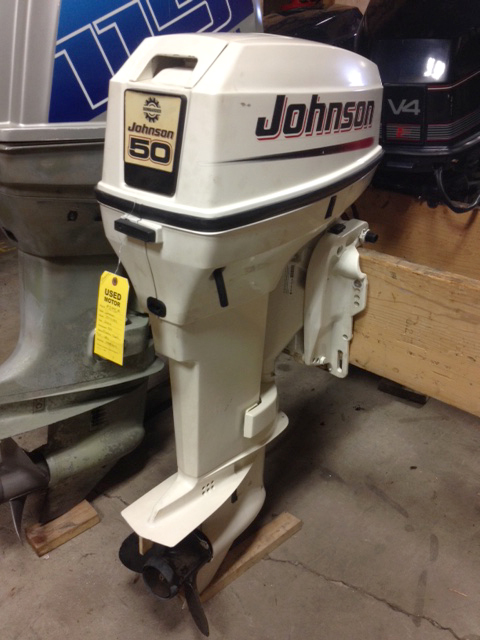 Johnson 50 Hp 2004 Van S Sport Center Used Outboard Motors