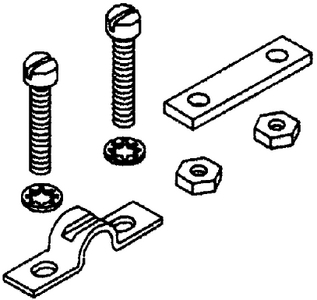 CABLE CLAMP & SHIMS (Seastar Solutions)