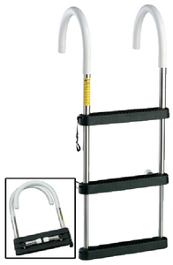STAINLESS STEEL TELESCOPING BOARDING LADDER (GARELICK)