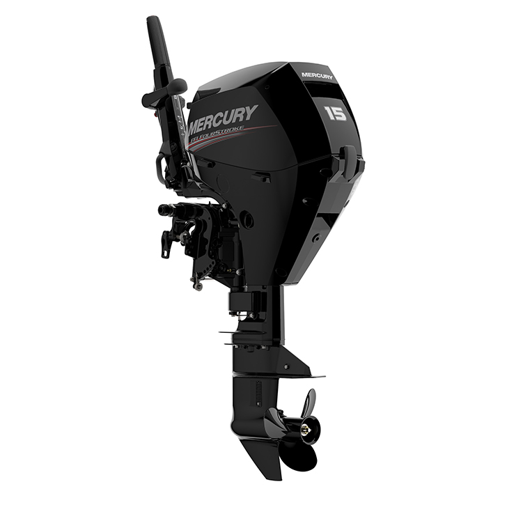 Mercury 15MH Outboard Motor 15HP | Buy New 2 Cylinder 15MH Mercury 15HP FourStroke Outboard Boat Motor - Van's Sport Center