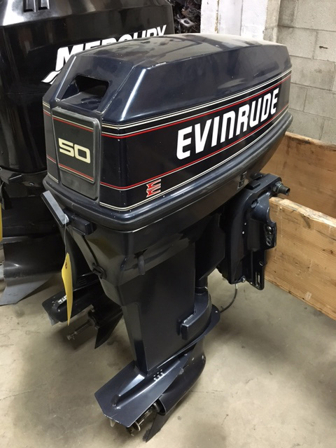 used outboard motors evinrude 50 hp van s sport center