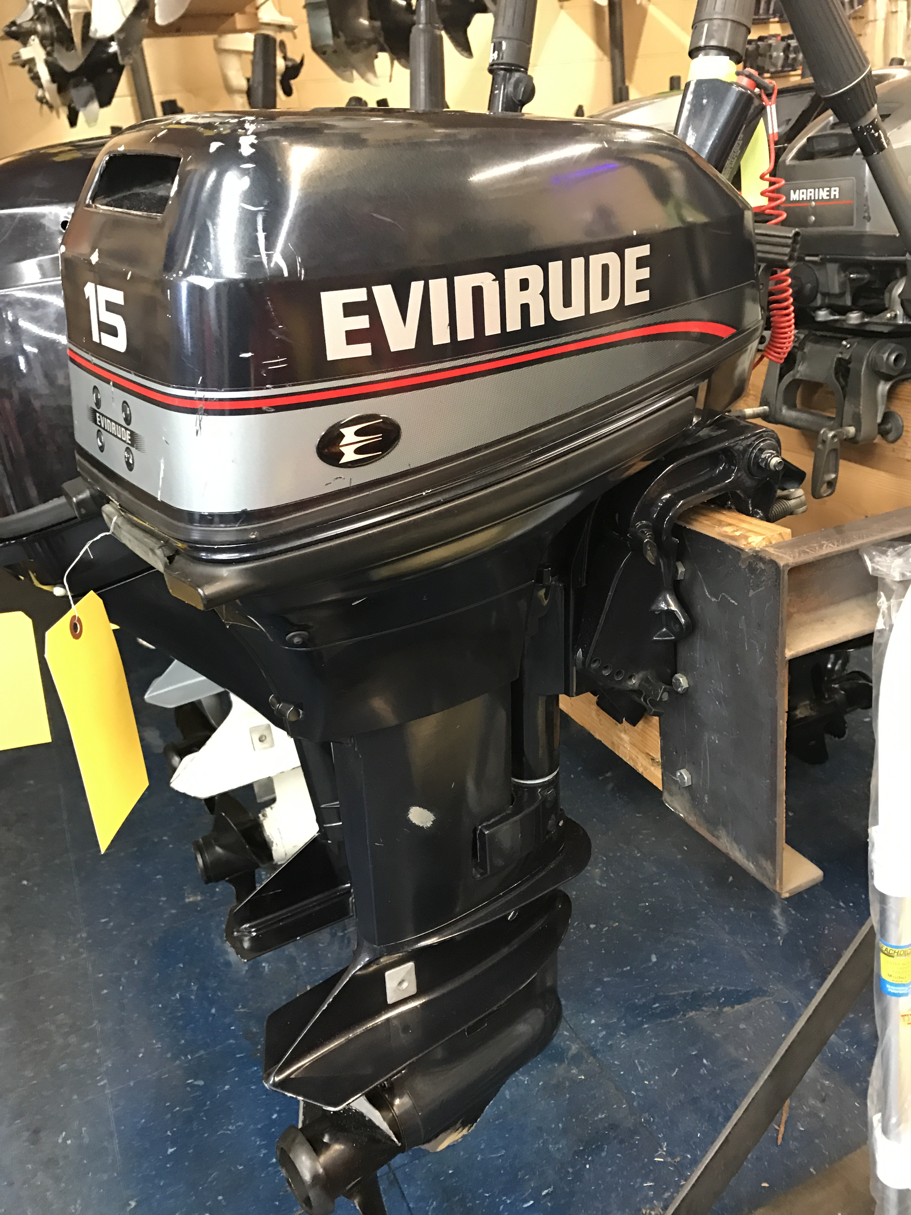 Used Outboard Motors Evinrude Van S Sport Center