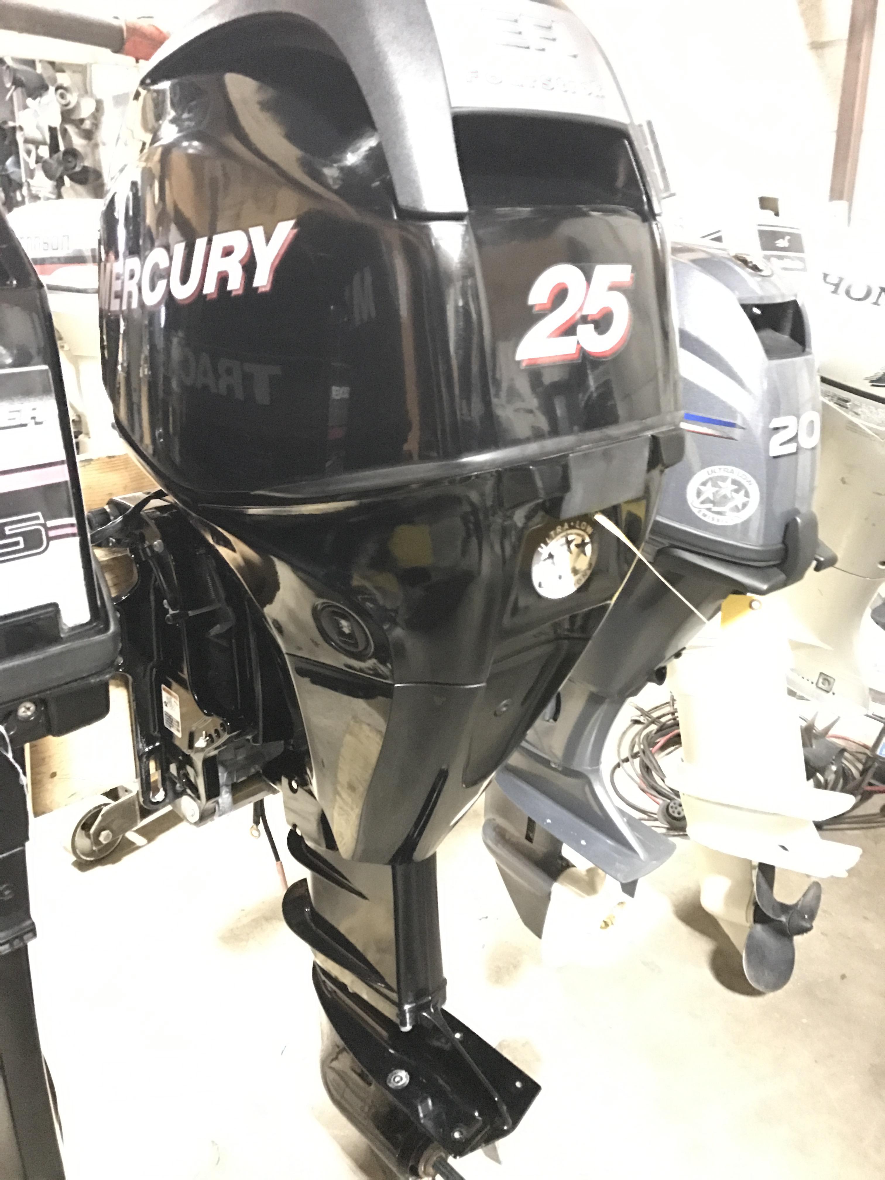 Used Outboard Motors Mercury 25 Hp Van S Sport Center