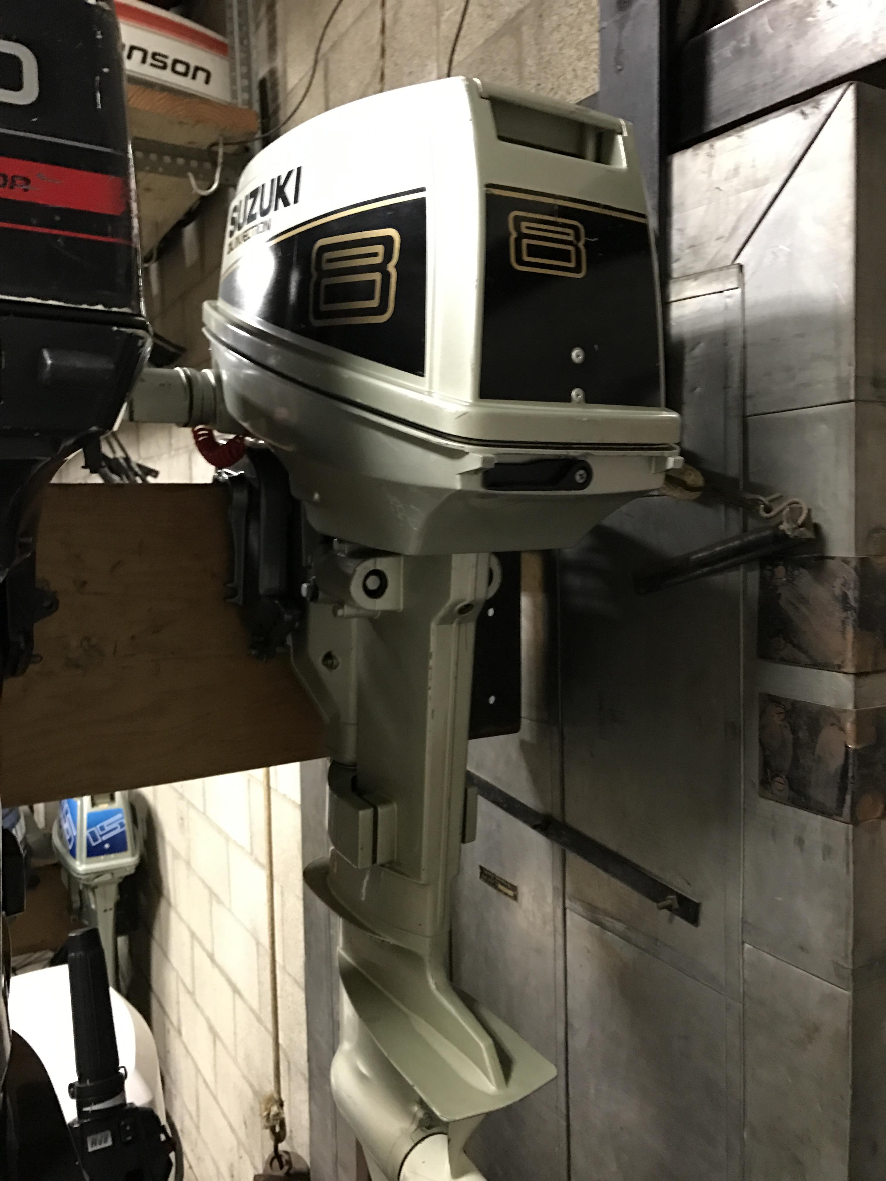 1988 Suzuki 8hp Van S Sport Center Used Outboard Motors