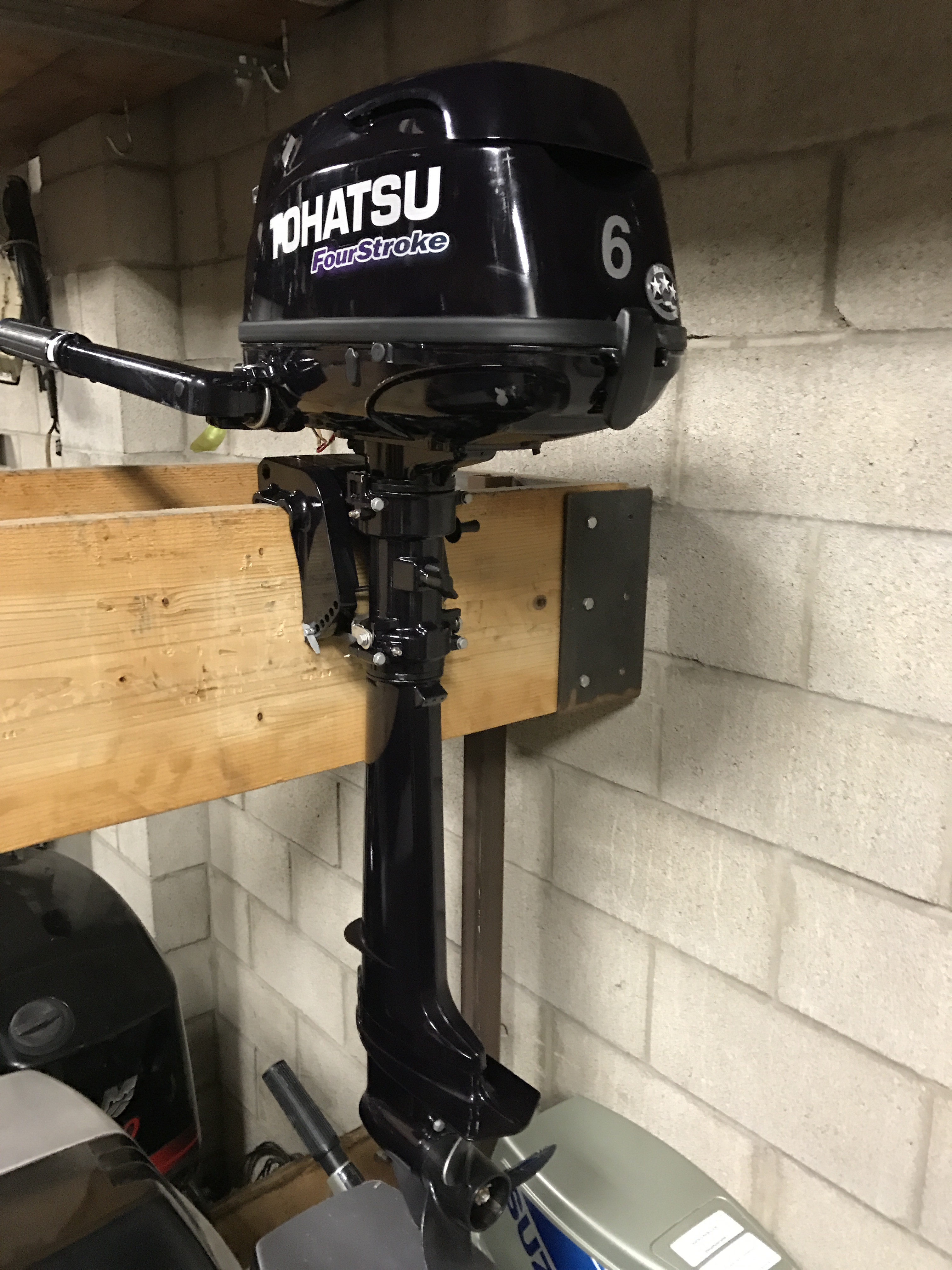 2014 tohatsu 6hp van s sport center used outboard motors for Yamaha 6hp outboard motor