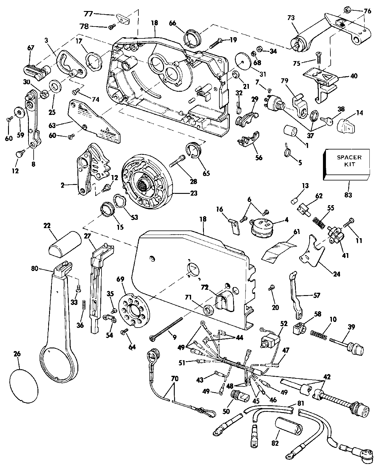 Omc Throttle Wiring Diagram Schematic Diagrams Control For Light Switch U2022 1977 Evinrude V4 Schematics