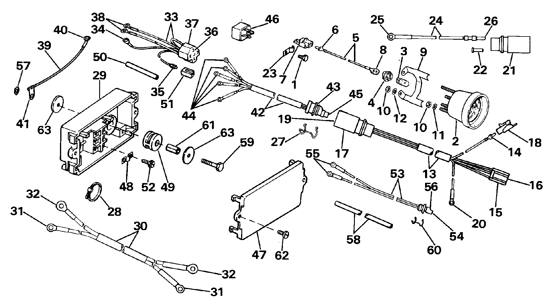 5-PIN OMC 0512754 0512754 CONNECTOR