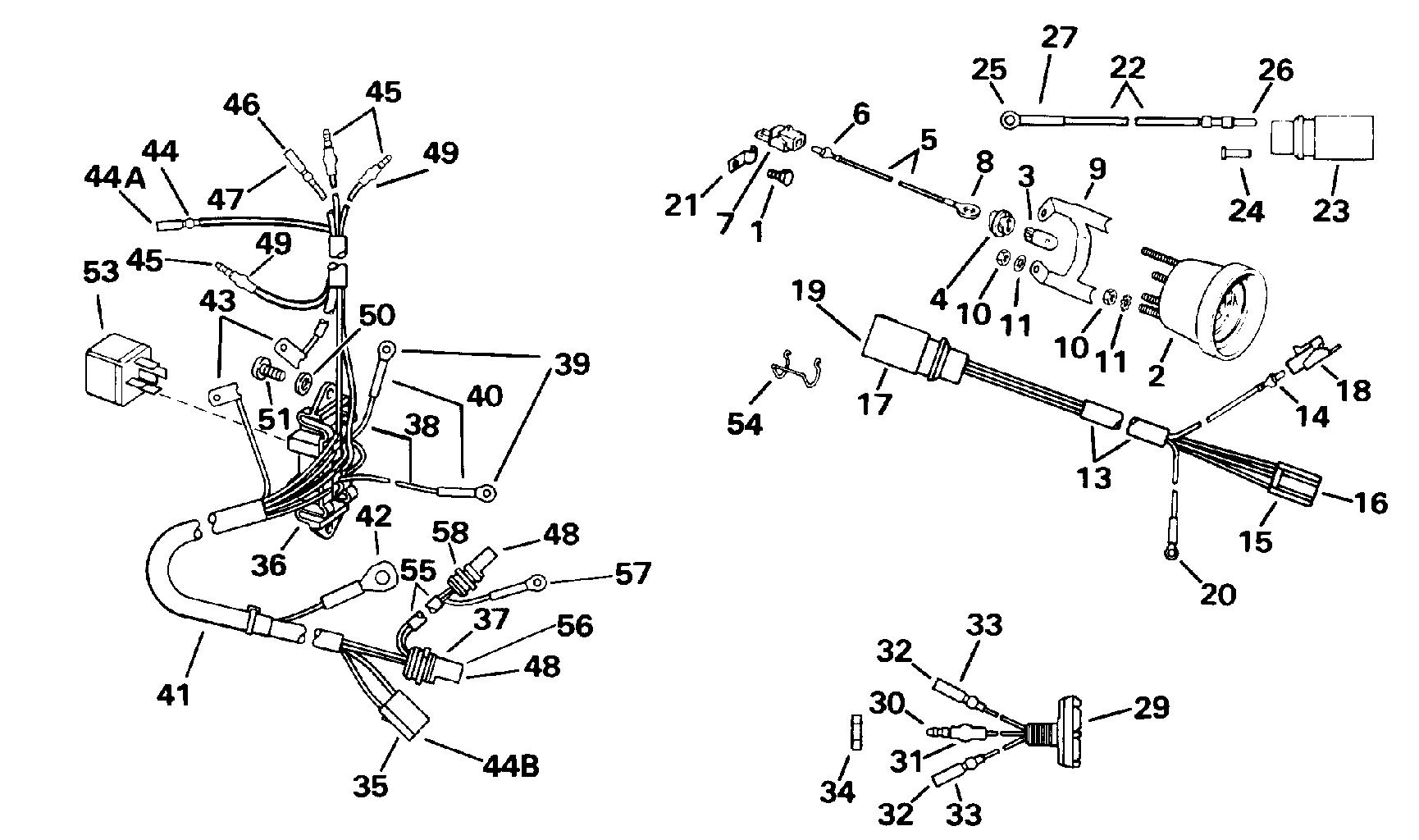 0583653 Omc Wiring Diagram - Wiring Diagrams Schematics