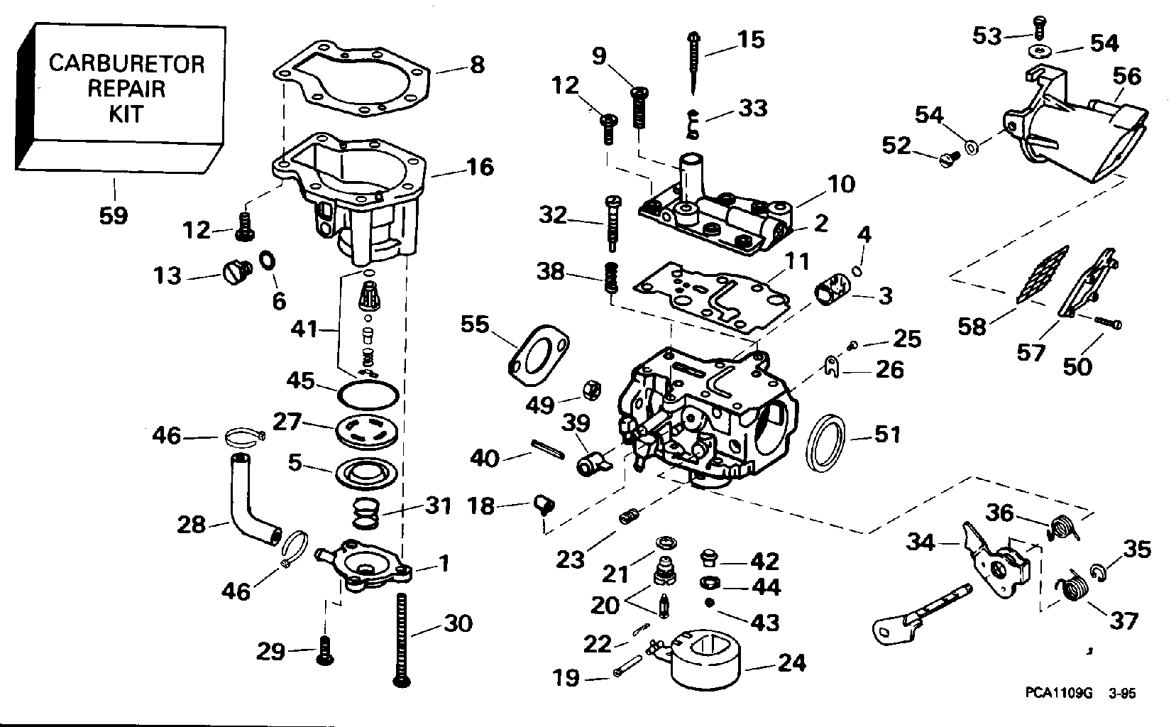 Hp Mercury Outboard Parts Together With 15 Hp Evinrude Parts Diagram