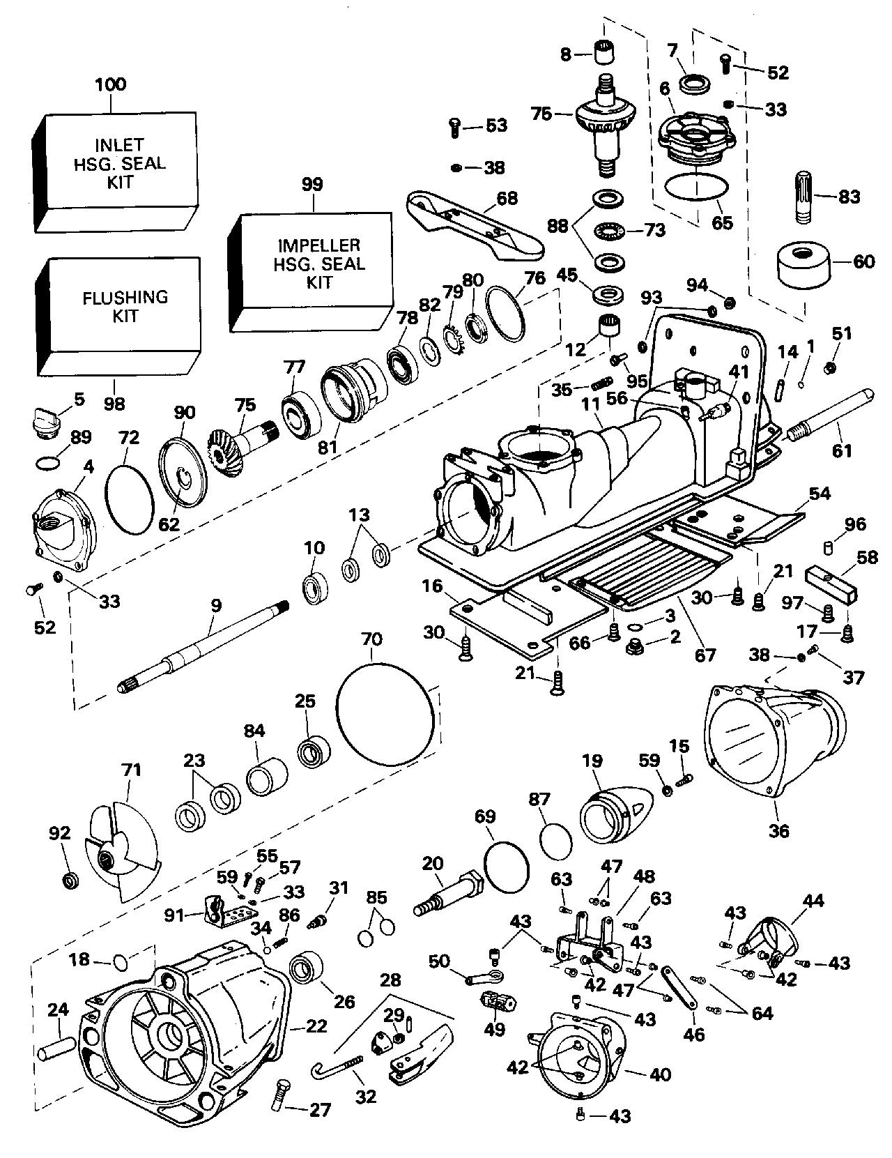 [DIAGRAM_5LK]  BRP | TURBOJET | 1995 | 115 | 115JEEOB 1995 | JET PUMP - Evinrude/Johnson/ OMC outboard motor parts - Van's Sport Center | Wiring Diagram Omc 115 Turbojet |  | Van's Sport Center