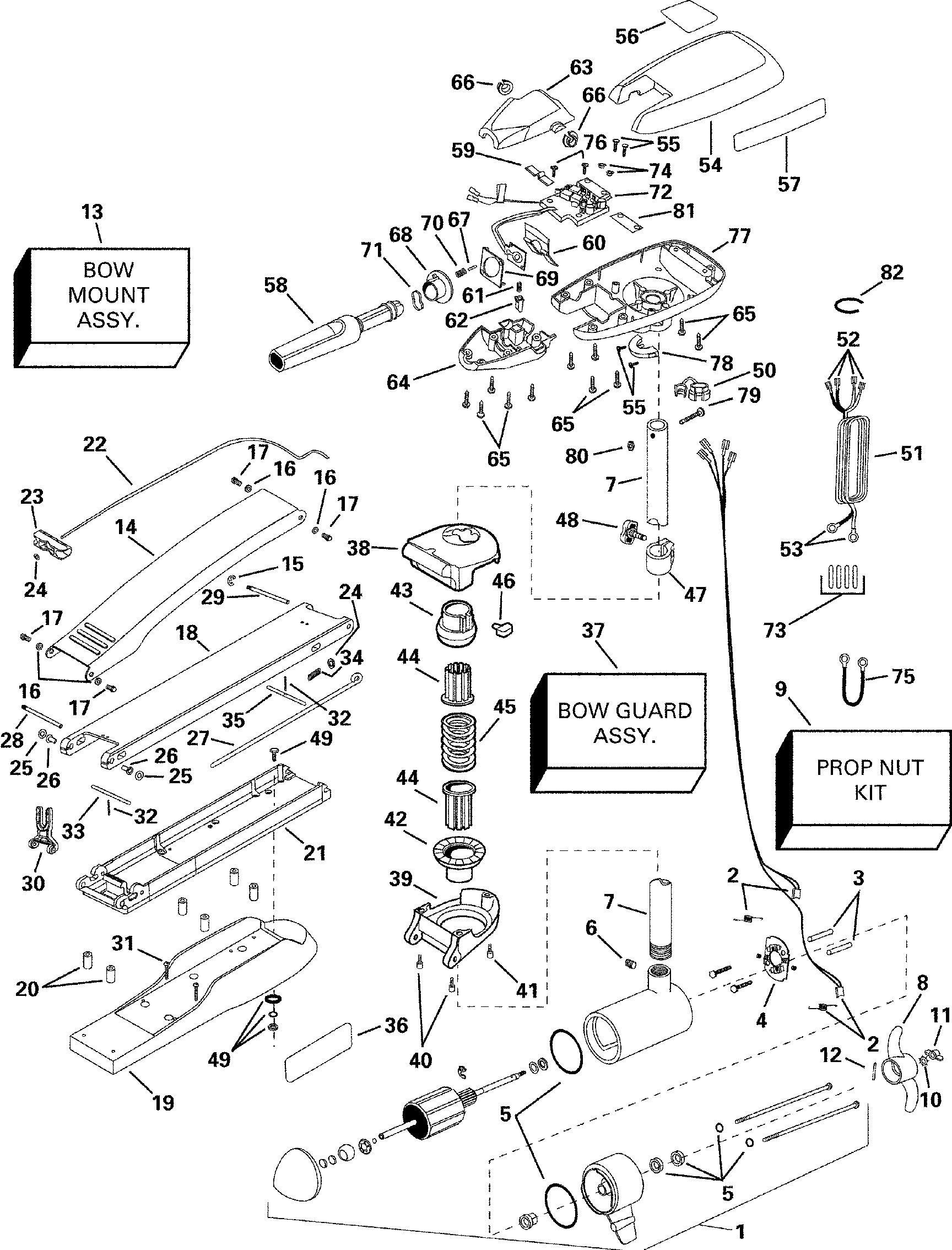 brp evinrude en 2000 12 volt p n 773162 scout 40h 2000 Kazuma Carburetor Diagram ref description qty required price 1 motor assembly