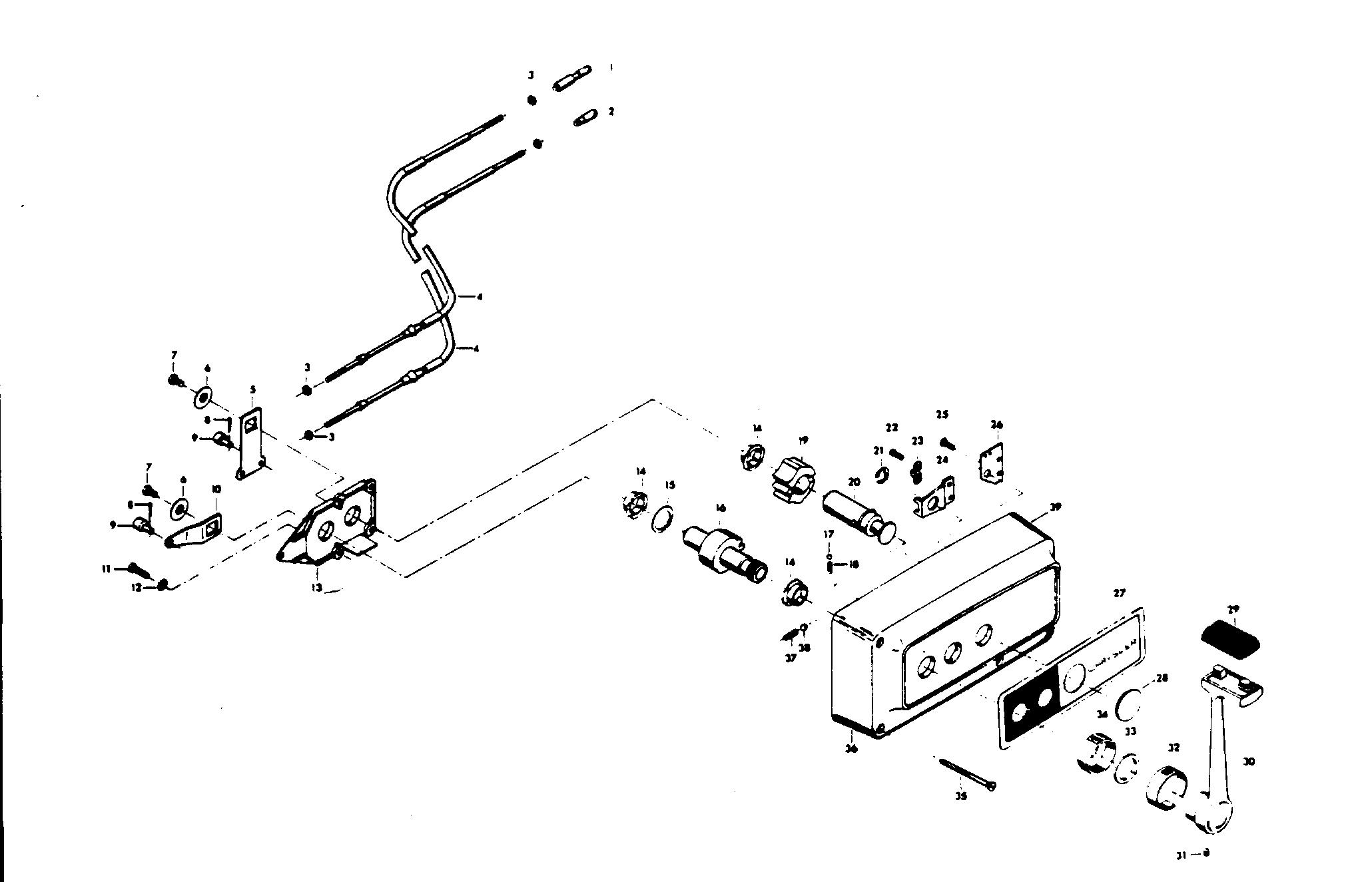 mercury | chrysler | 105 (1976) | 1059he | remote control