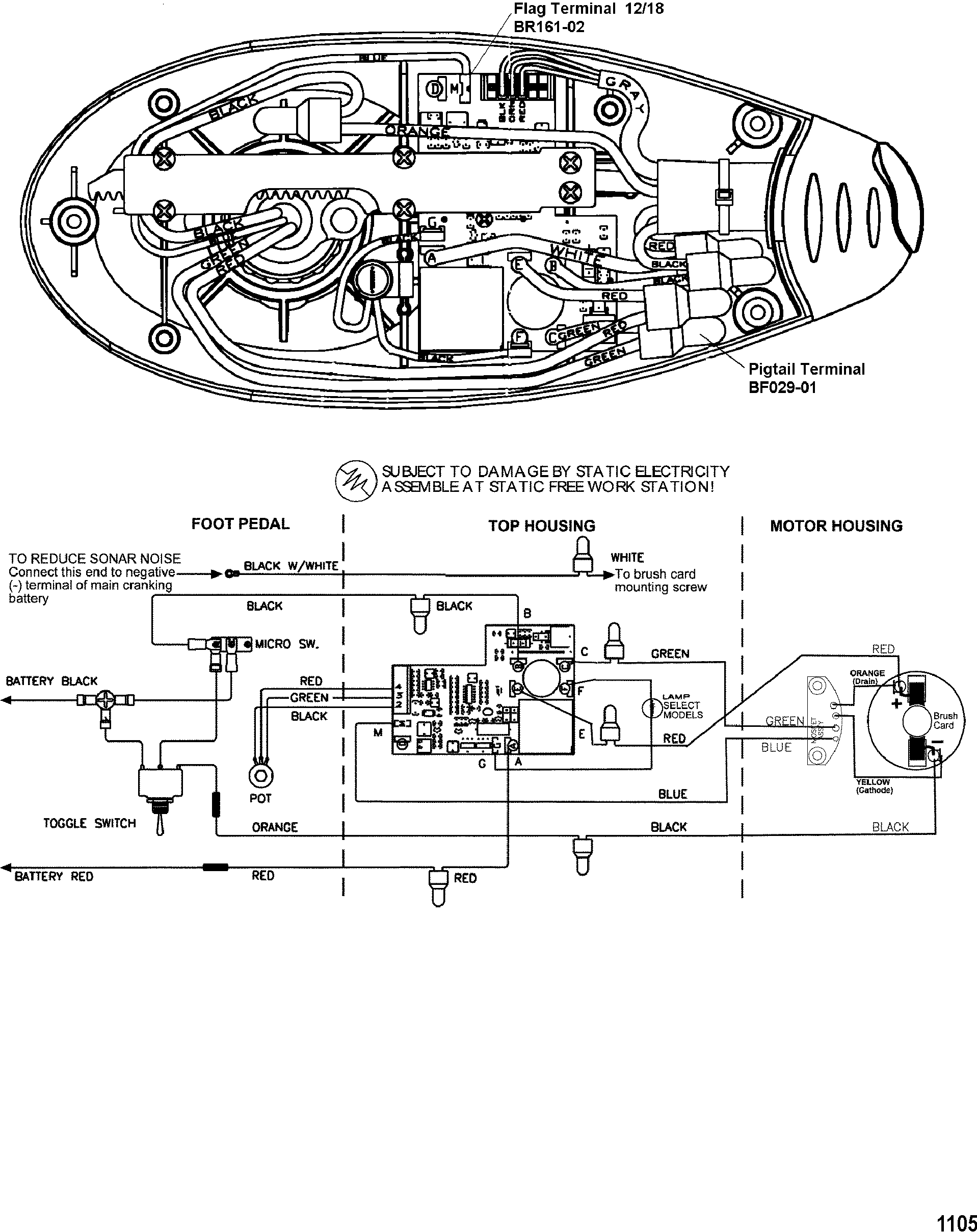 Mercury Trolling Motor Motorguide Energy Series All Up 36 Volt Wiring Diagram Wire Diagrammodel Ef104v Ef107v
