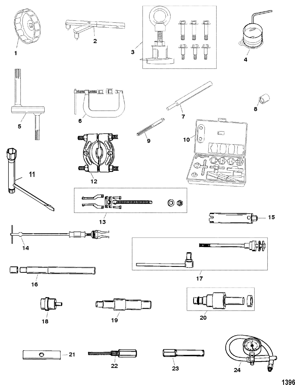 Enjoyable Mercury Mariner 9 9 4 Stroke 323 Cc 0P075166 Thru 0P400999 Wiring 101 Capemaxxcnl
