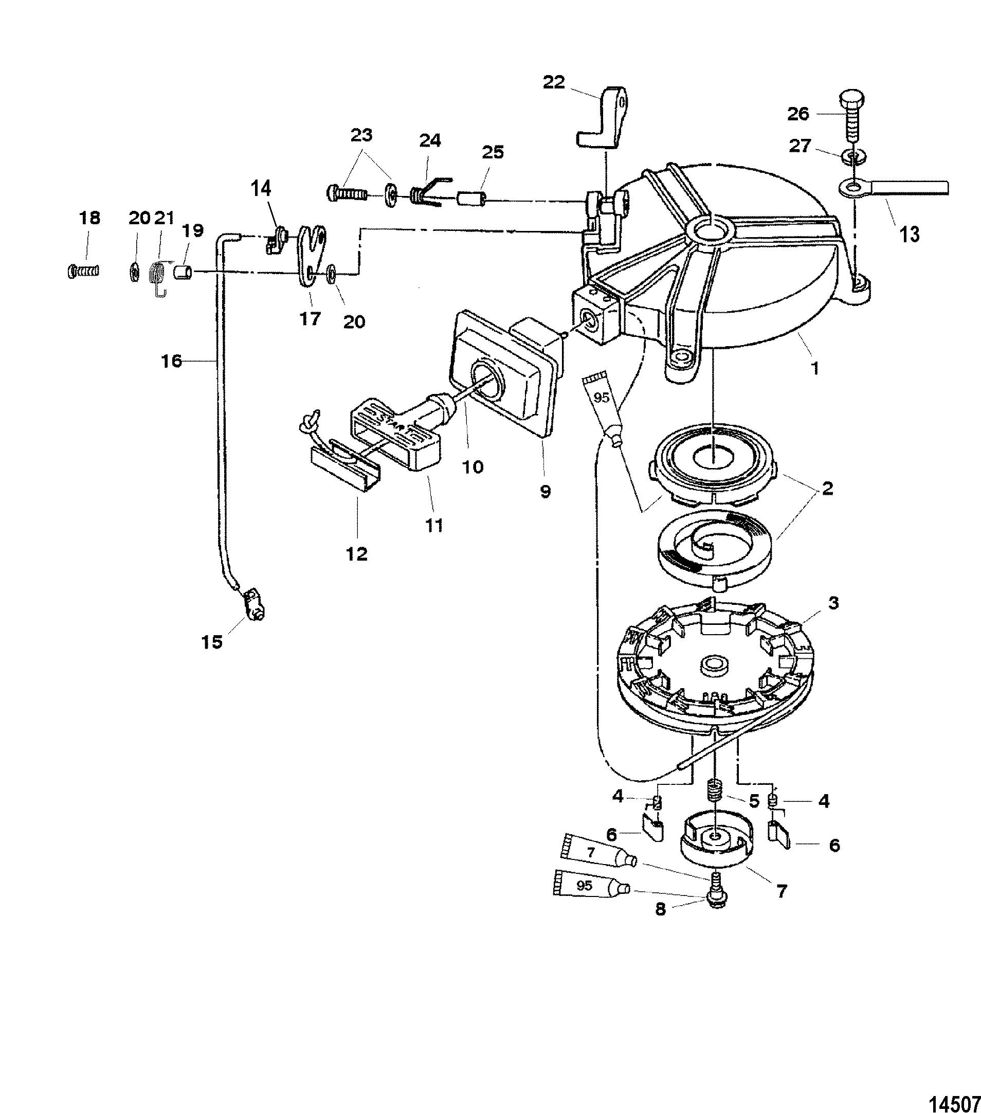 Mercury Starter Parts Electricity Site