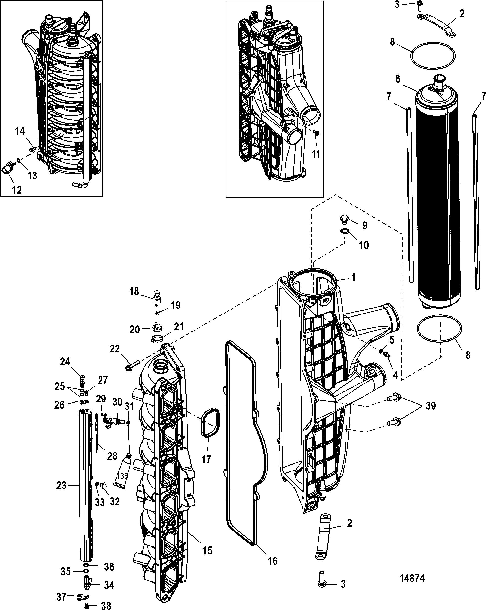 Mercury | MERCURY | 250 VERADO (4-STROKE)(6 CYL ) | 1B381712 THRU