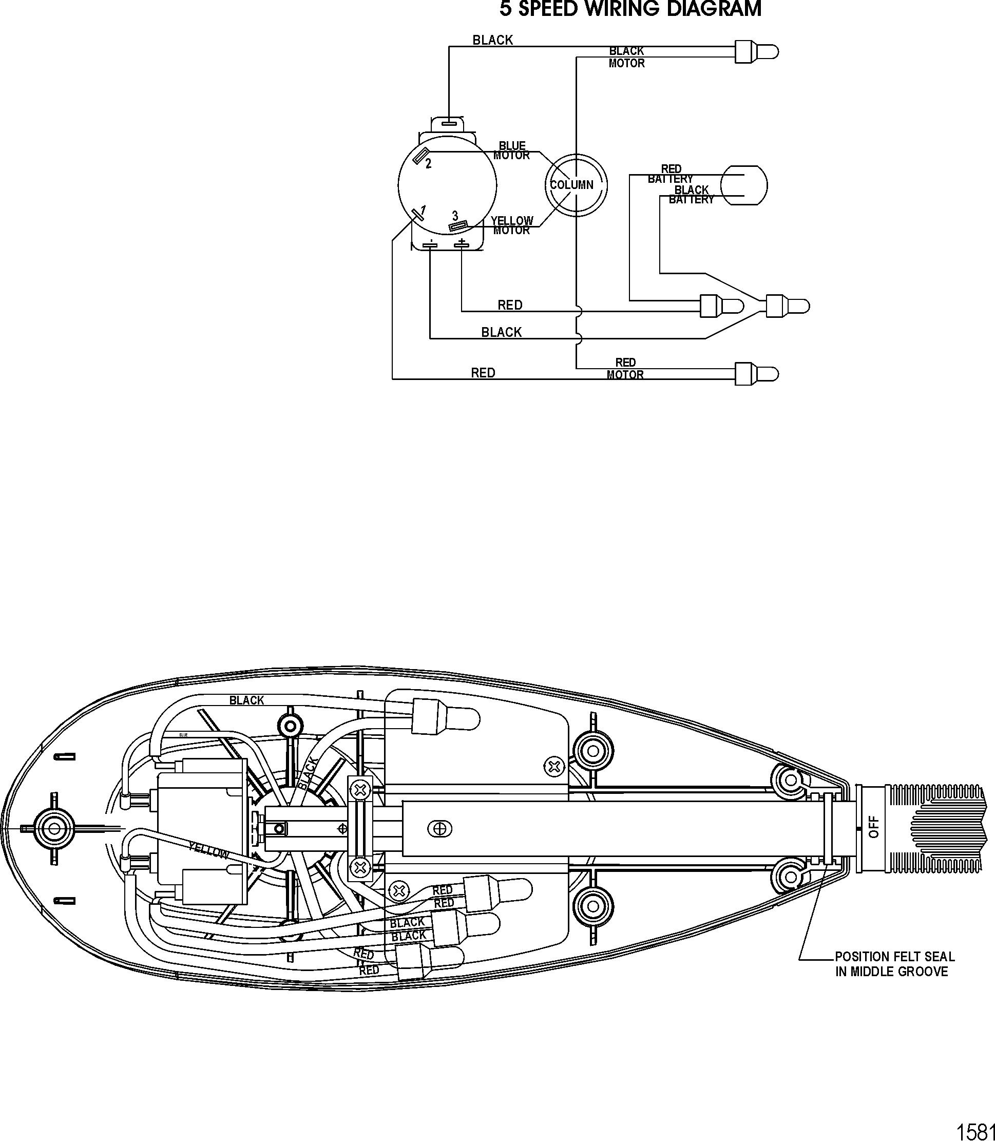 Mercury Trolling Motor Motorguide Tt Thruster Series 0u018186 12 Volt Boat Wiring Diagram Thru 0u025101 Wire Diagrammodel Tt4500