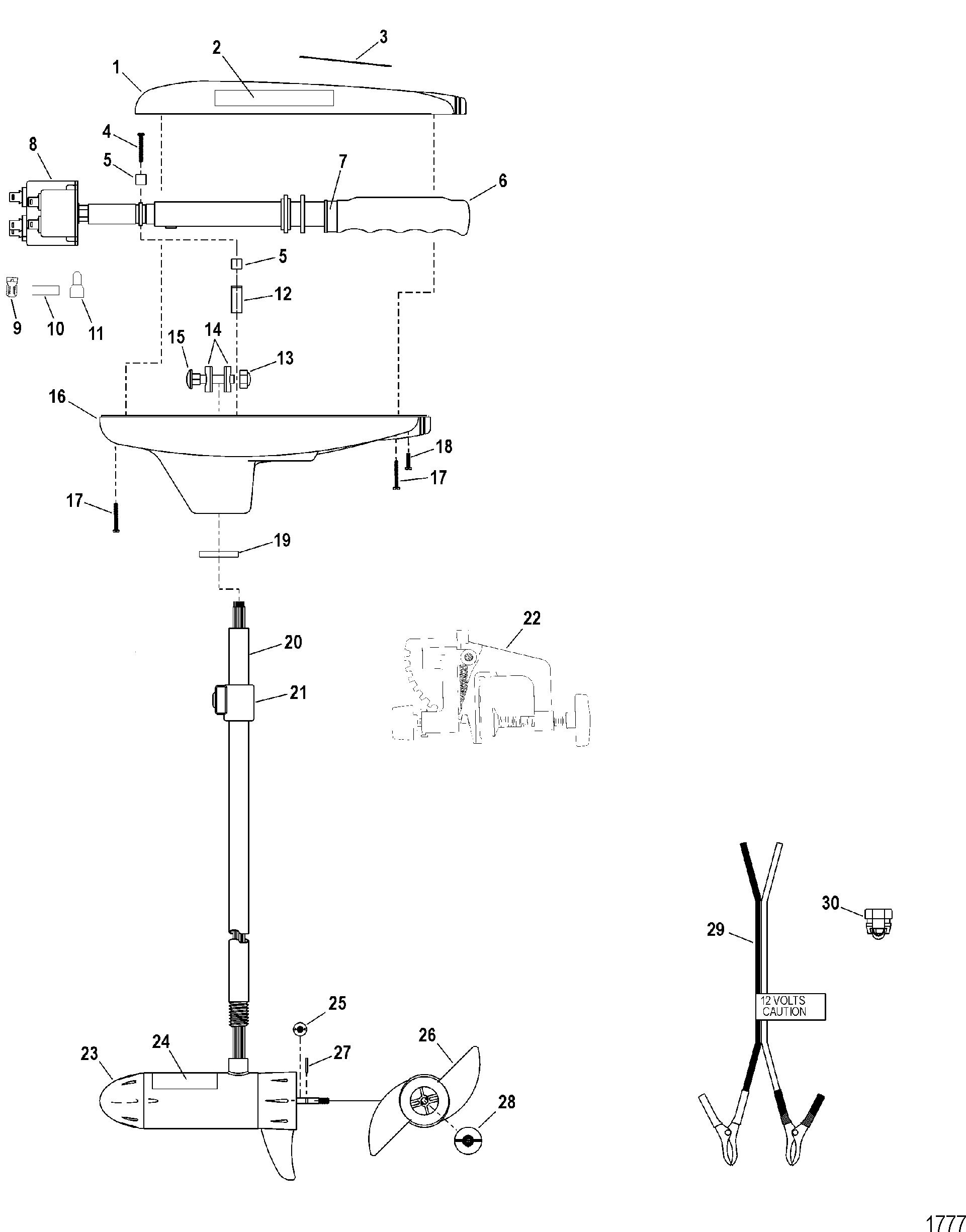 Motorguide Motor Wiring Diagram Replacing Picturesque Www Brute Mercury Trolling Thruster Series U Com Plus 1921x2450