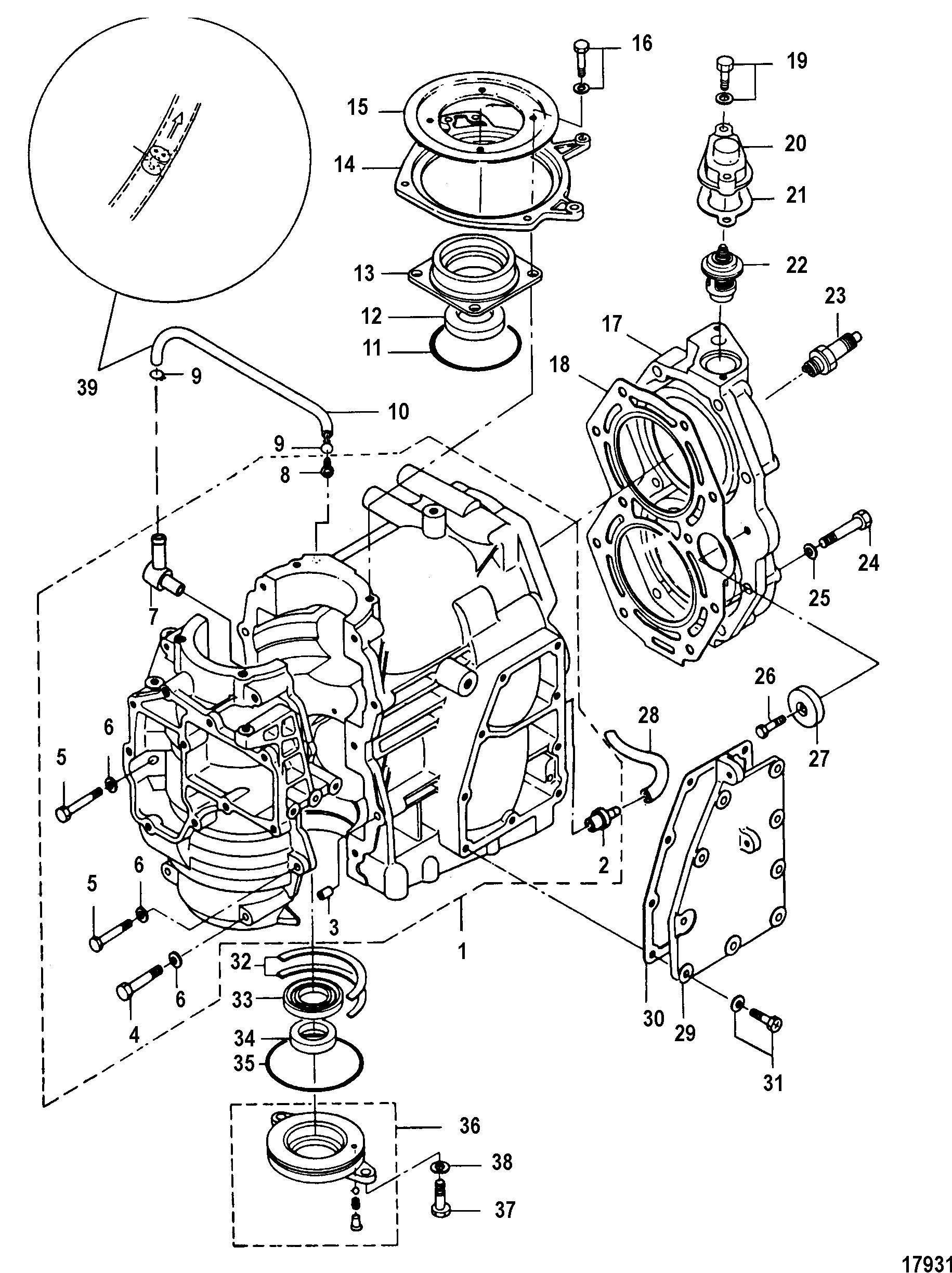 Mercury 25 Jet 2 Cyl2strokeinternational. Mercury 25 Jet 2 Cyl2strokeinternational 0n088578 Up Cylinder Block. Mercury. Mercury 2 Stroke Motor Diagram At Scoala.co