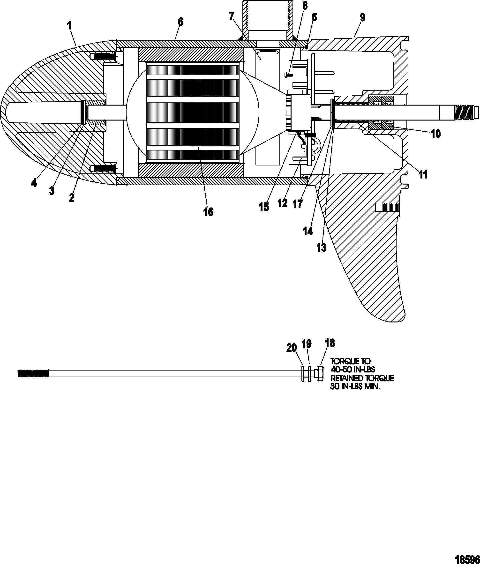 Mercury Outboard Motor Lower Unit Diagram