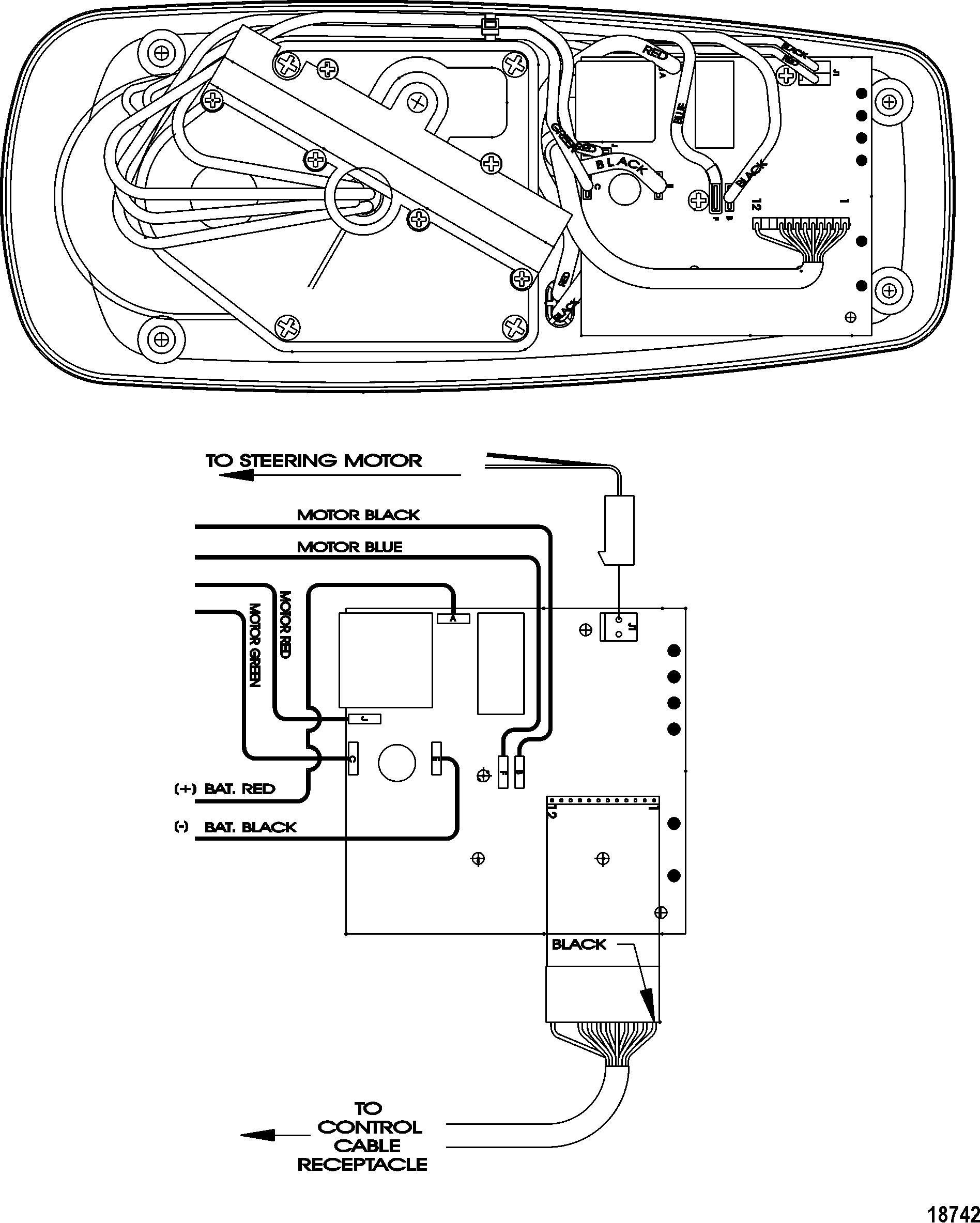 18742 motorguide wiring diagram motorguide parts diagram \u2022 free wiring mercury thruster trolling motor wiring diagram at honlapkeszites.co