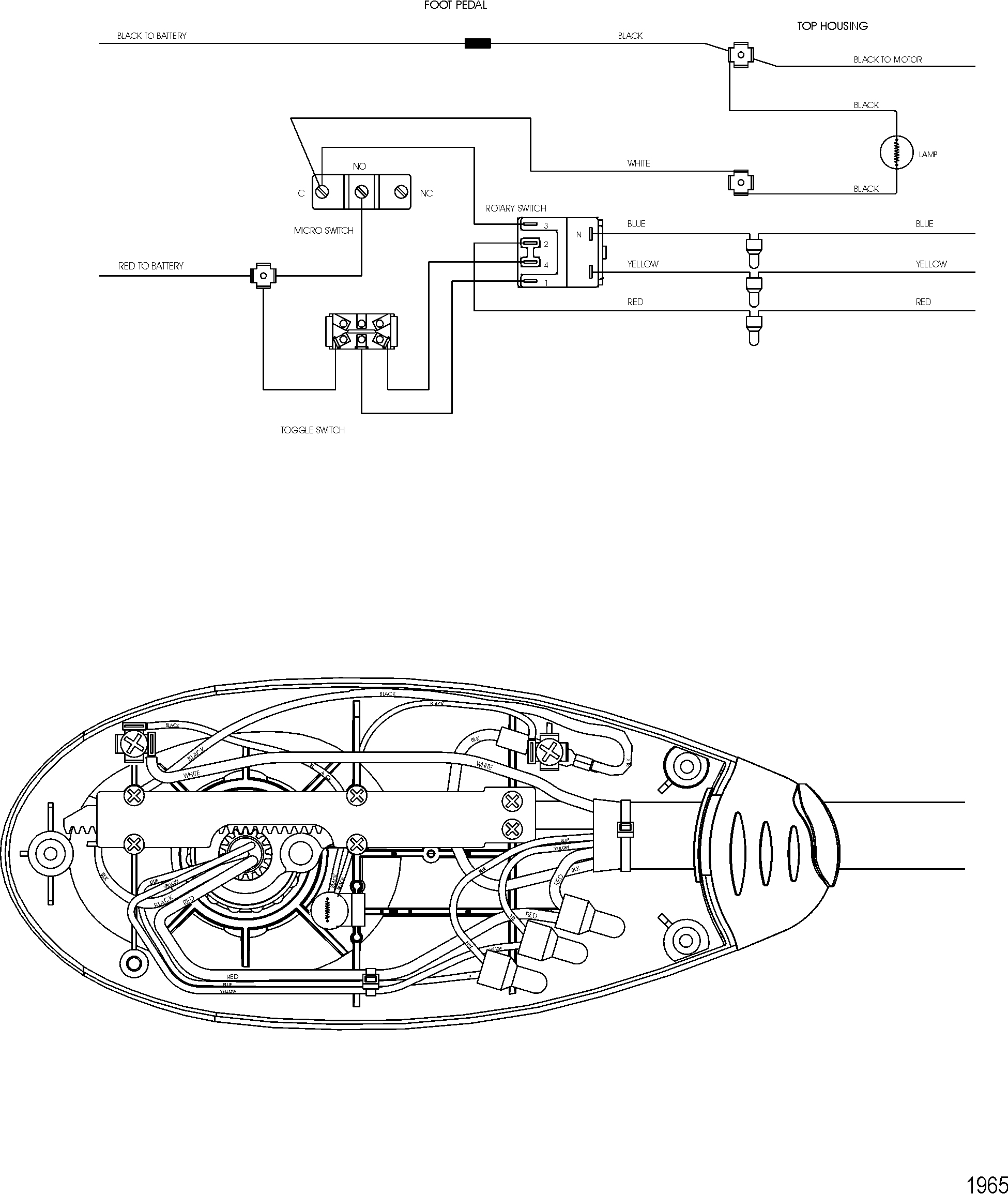 Mercury Trolling Motor Motorguide Fresh Water Series 9b000001 Rigid Wiring Diagram Up Wire Diagrammodel Fw46fb