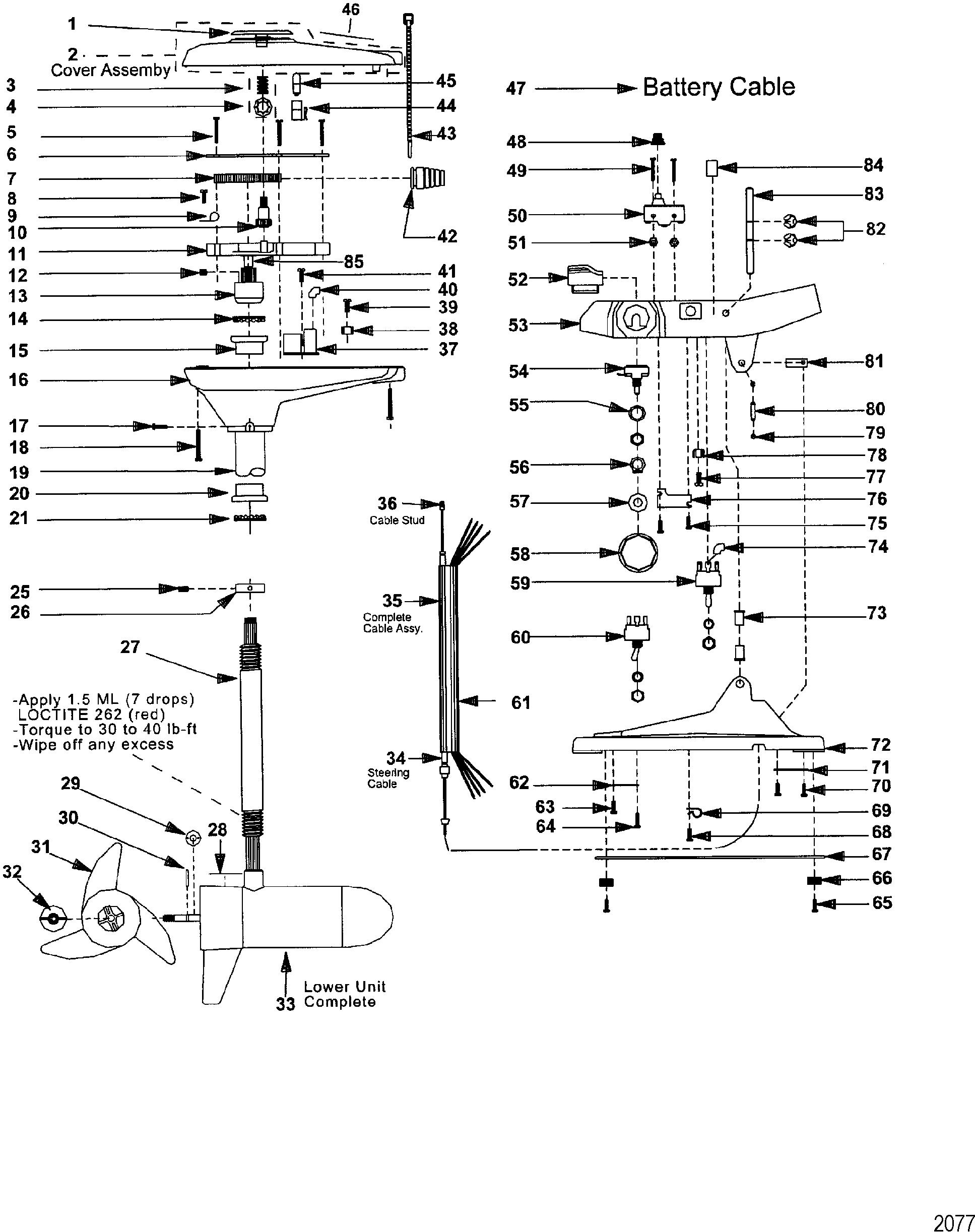 COVER-BOTTOM Mercury M899452T