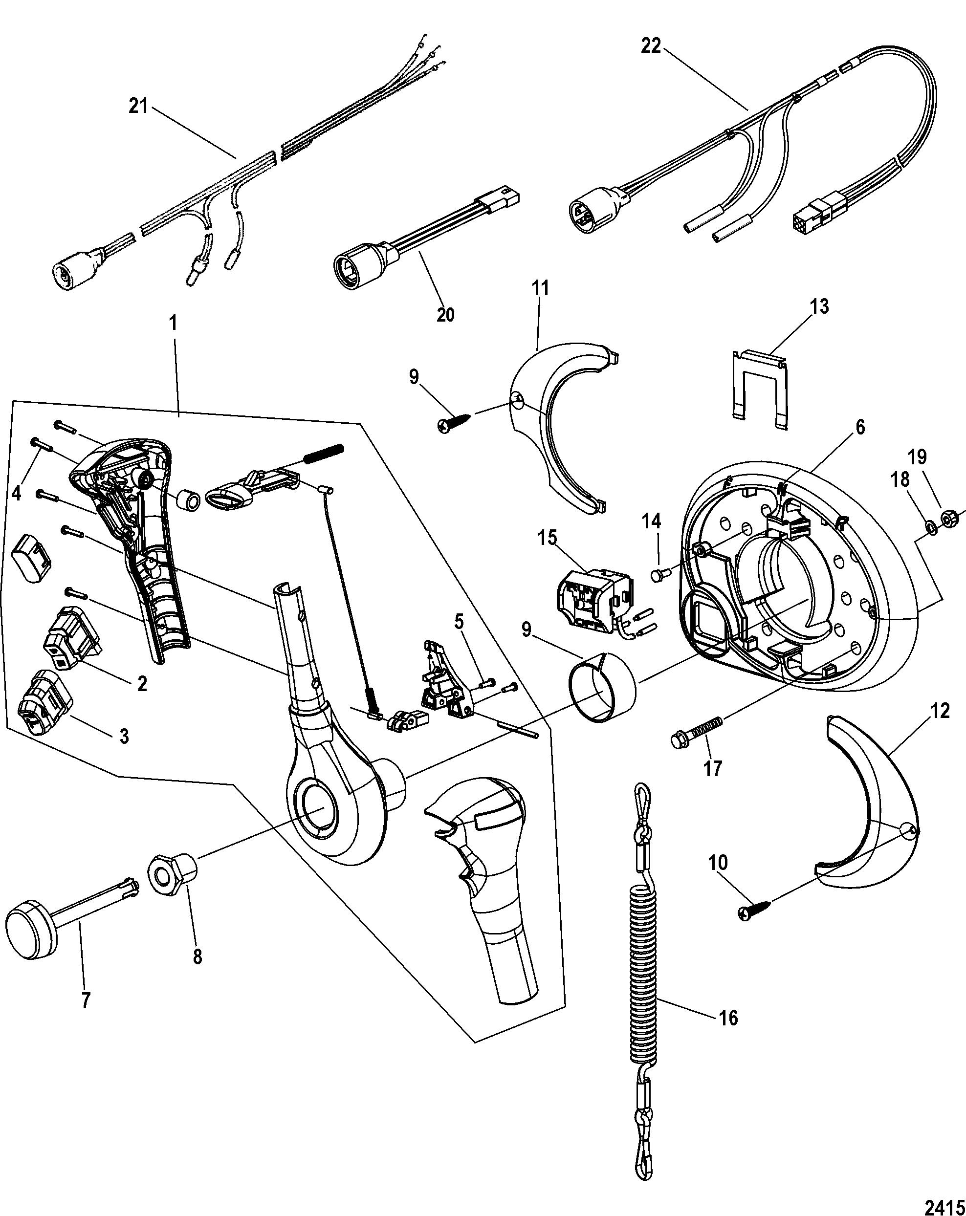 marvellous mercury throttle control wiring diagram gallery best Quicksilver  Throttle Control Repair Kit at Quicksilver Throttle