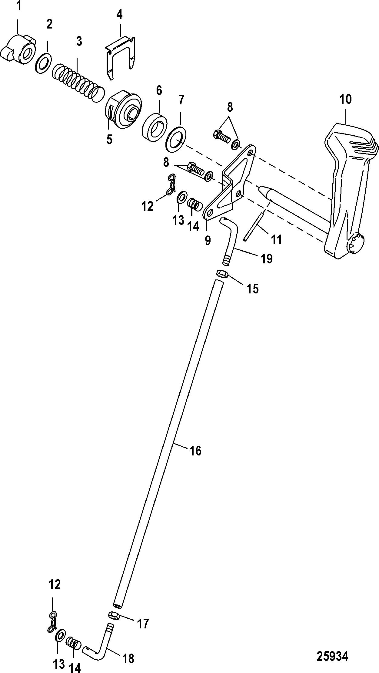 Mercury   MERCURY   25 Jet EFI (3 CYL )(4-STROKE)   0R165086