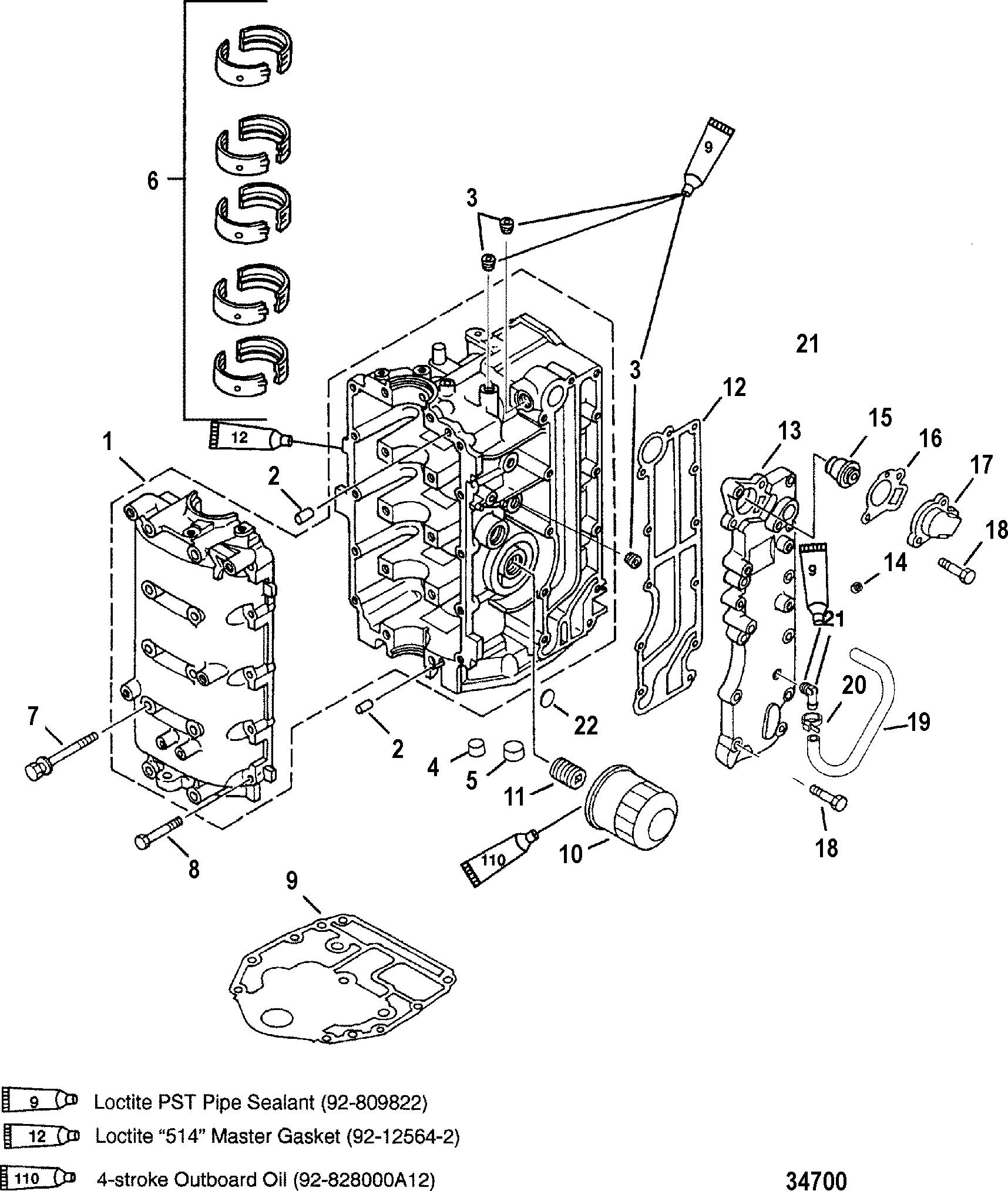 Mercury Bigfoot Outboard Motor Diagram - Wiring Circuit •