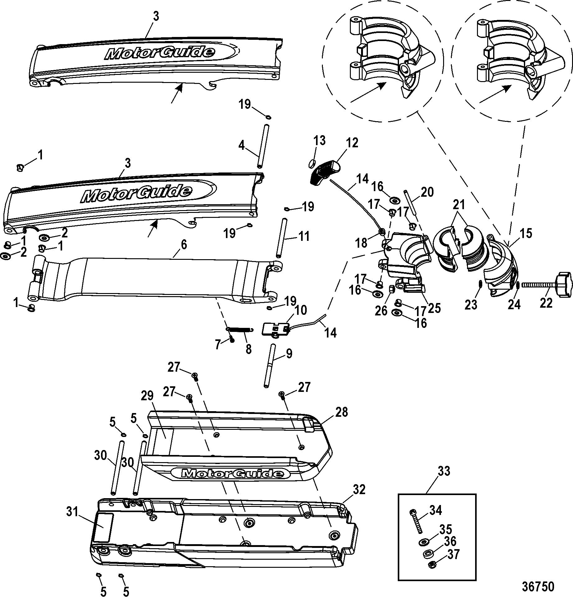Yamaha Outboard Black Motor Flex