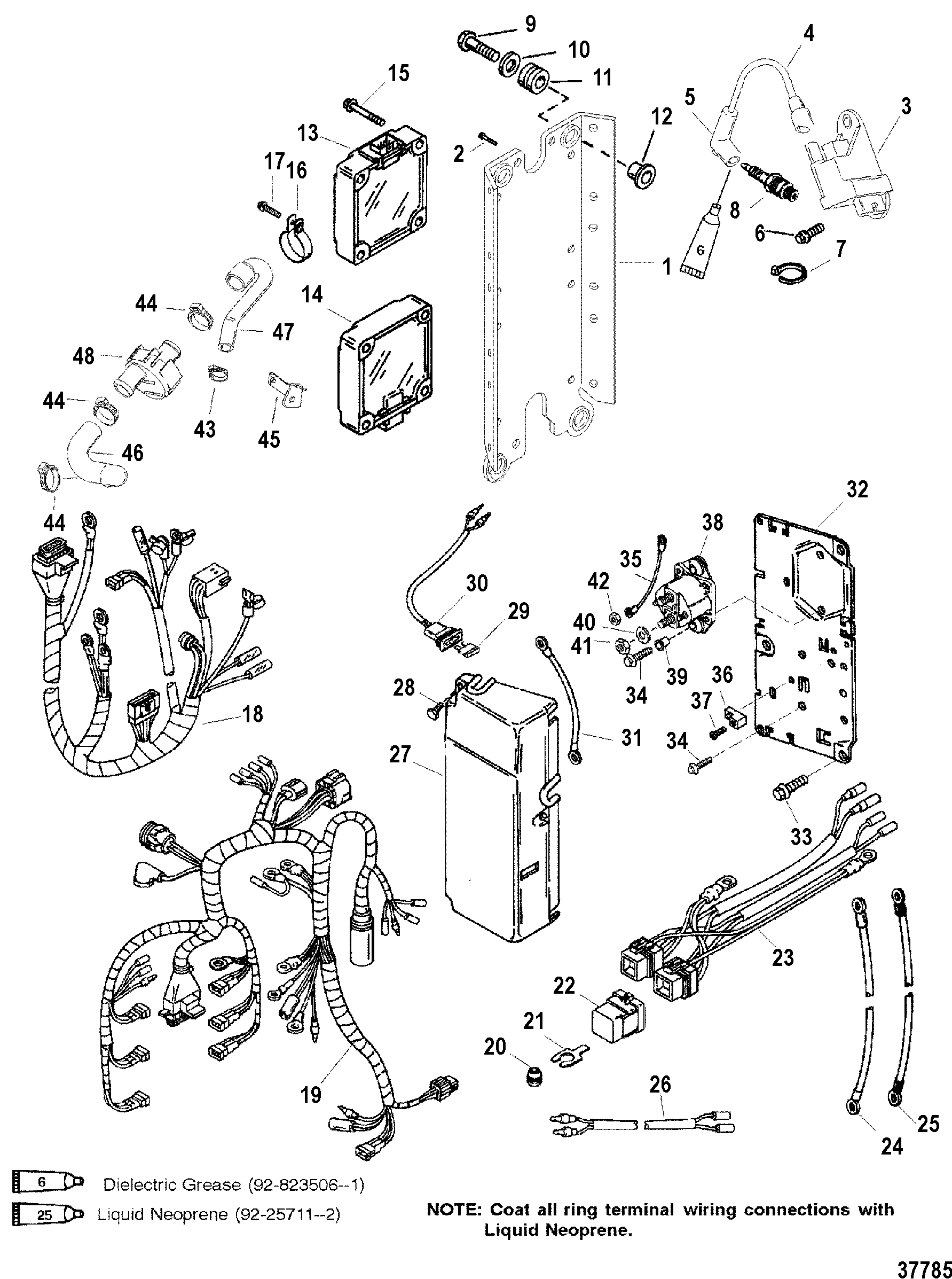 teleflex steering parts