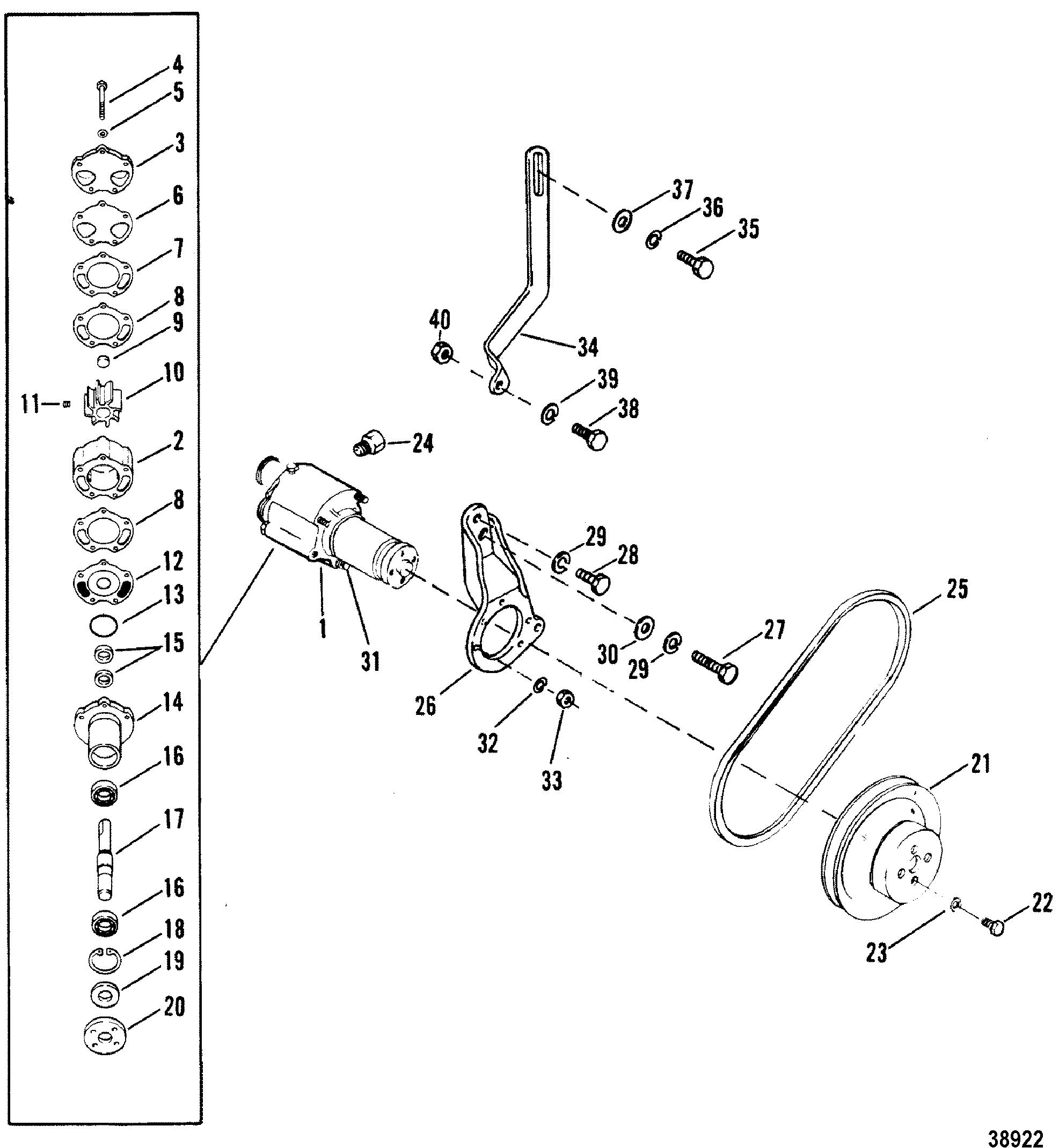 Mercury Outboard Water Flow Diagram