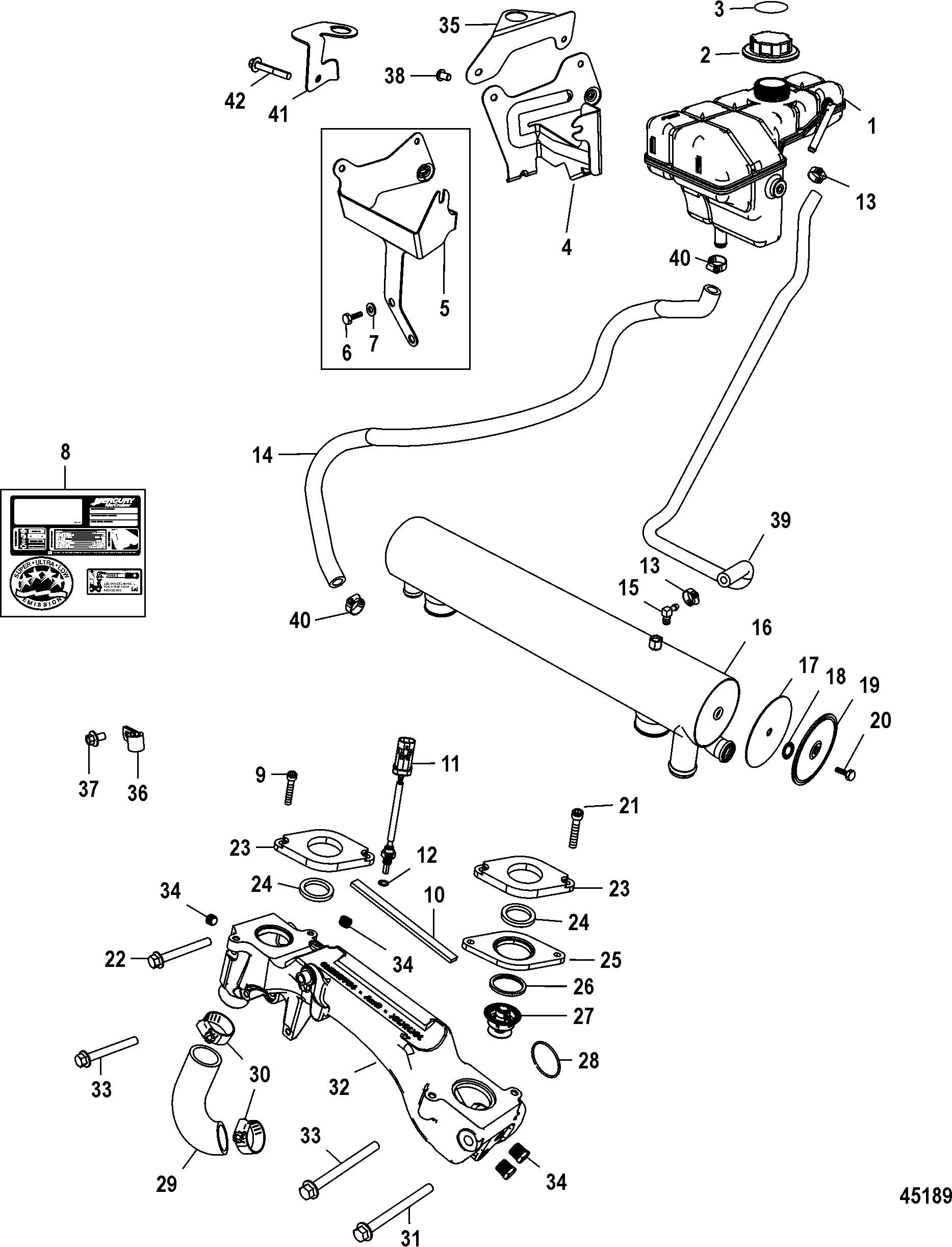 7 4l Mercruiser Engines Diagram Com