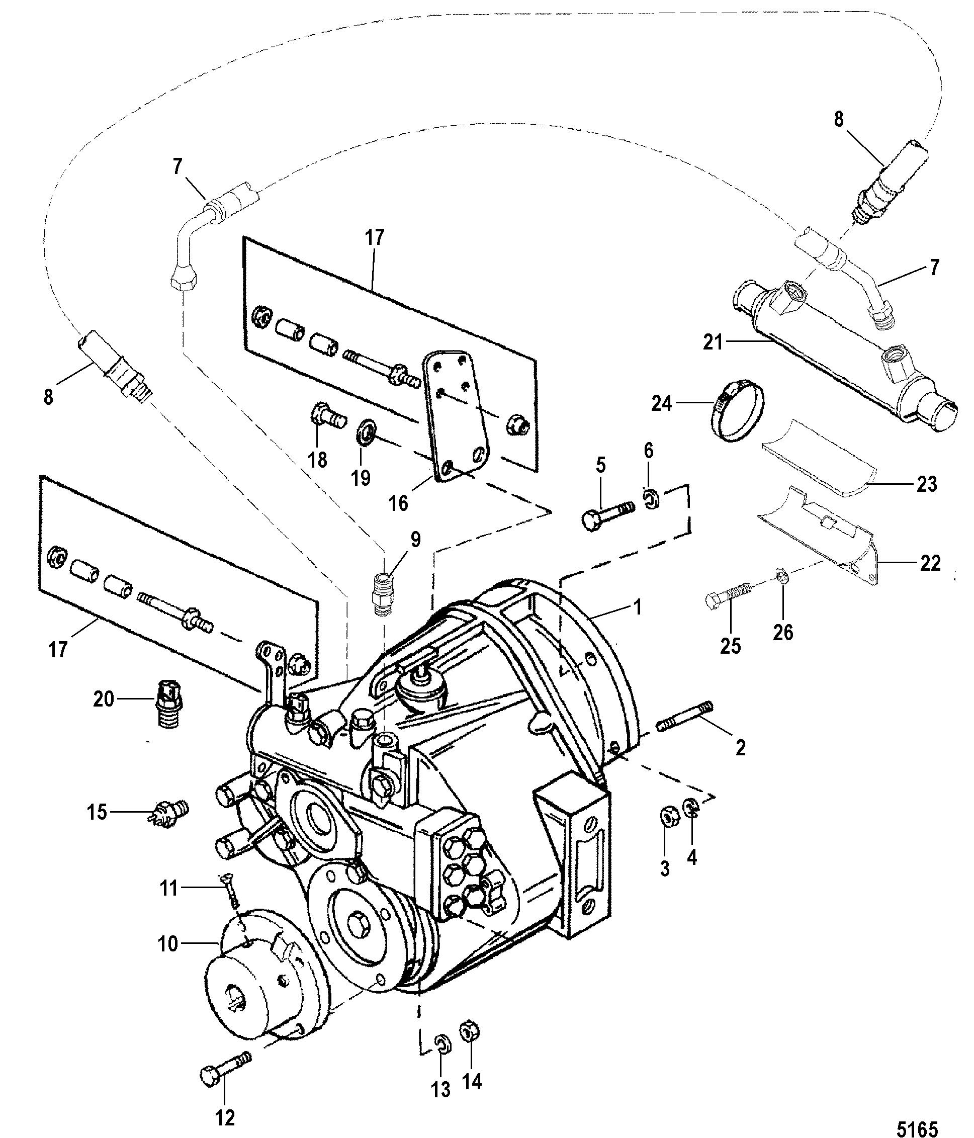 1985 Mercruiser 170 Drive Diagrams Circuit Wiring And Diagram Hub 3 7 Engine Inboard Transmission Database Rh Brandgogo Co 1986 Starter