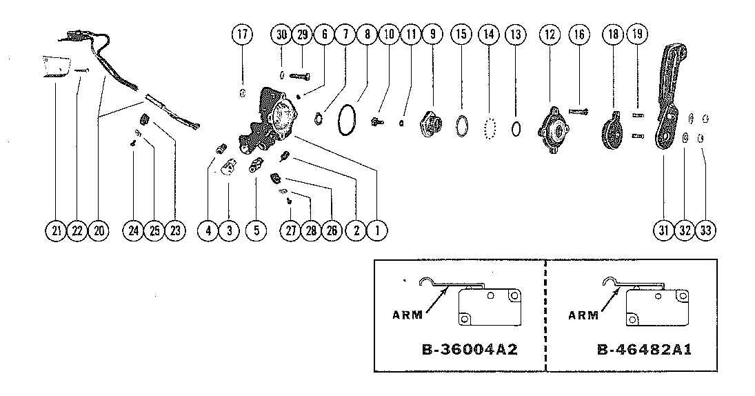 Diagram Of 1996 Mercury Marine Mercury Racing Outboard 1925315sh