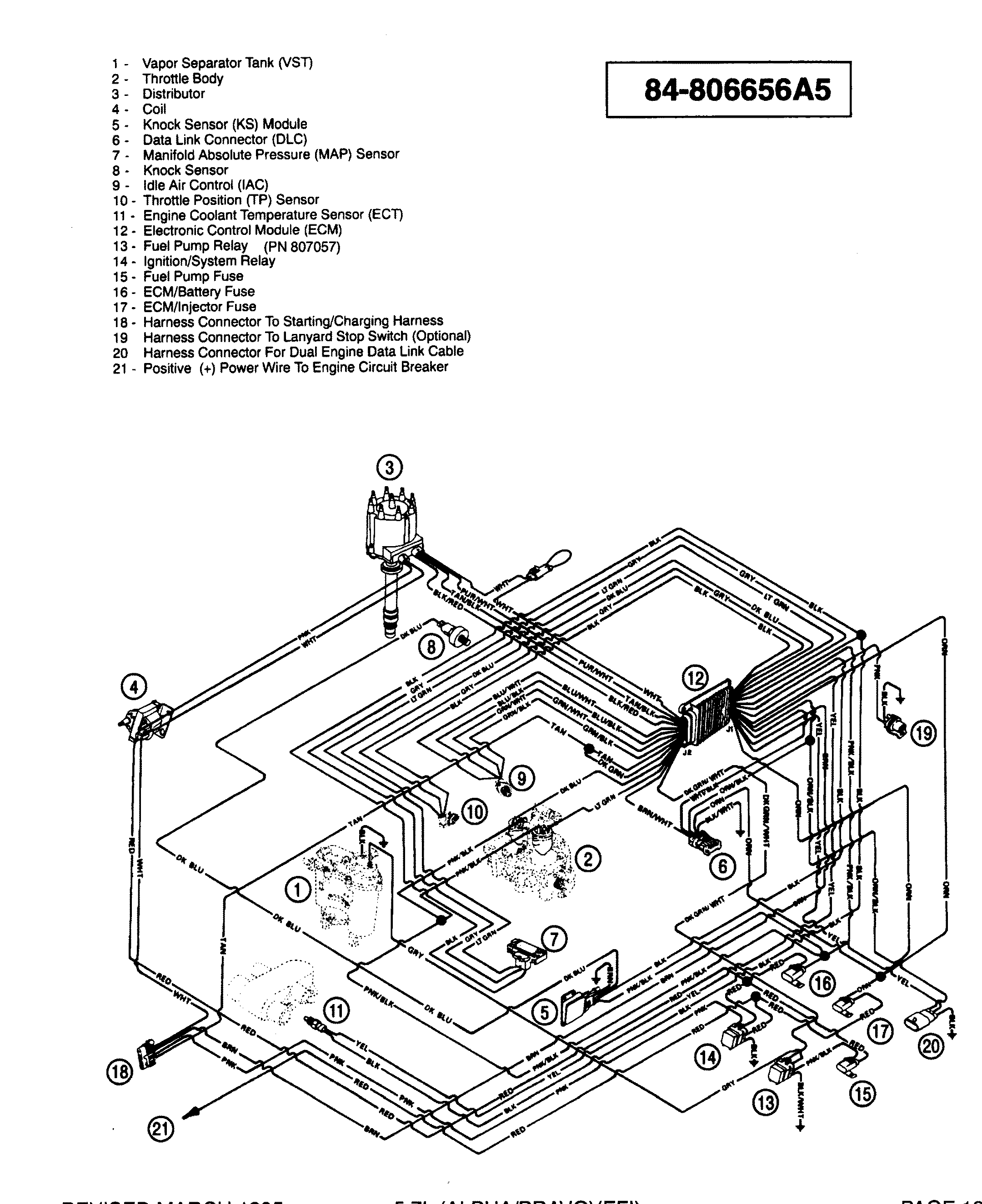57 mercruiser wiring diagram