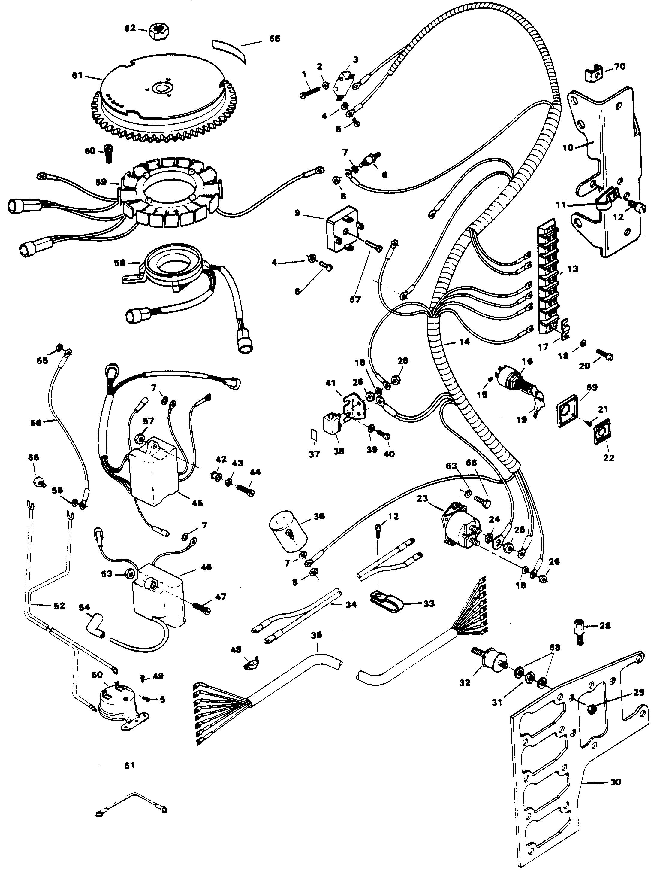 125hp mercury outboard wiring diagram 1985  mercury outboard motor on  perkins diesel engine wiring diagram