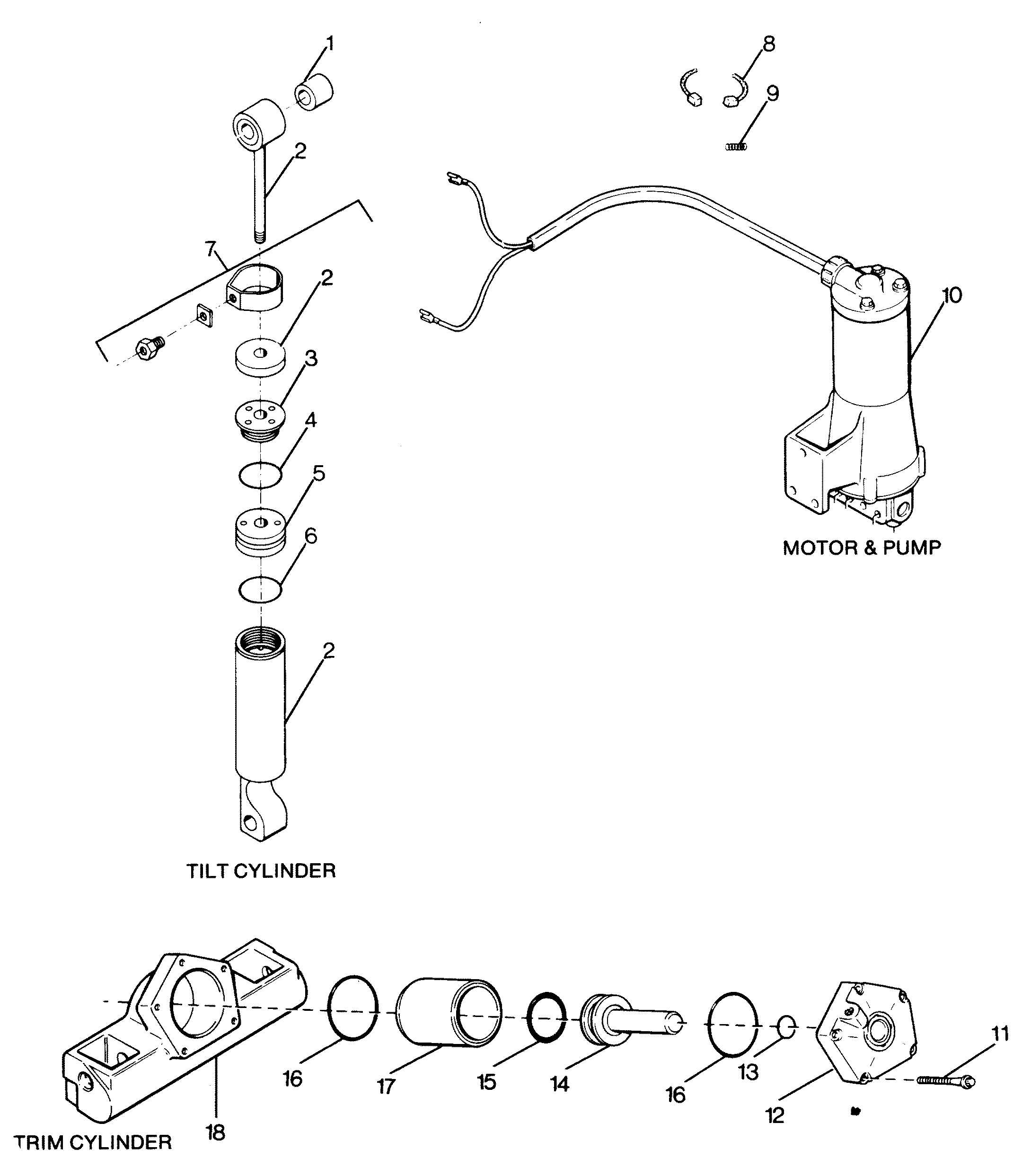 outboard motor parts breakdown