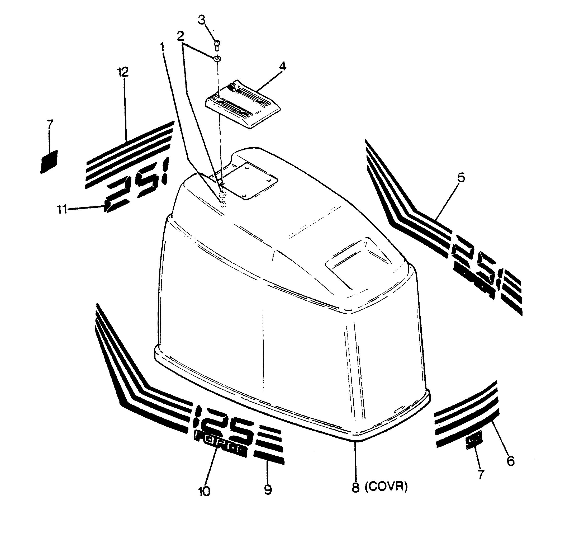 1989 polaris snowmobile parts diagram