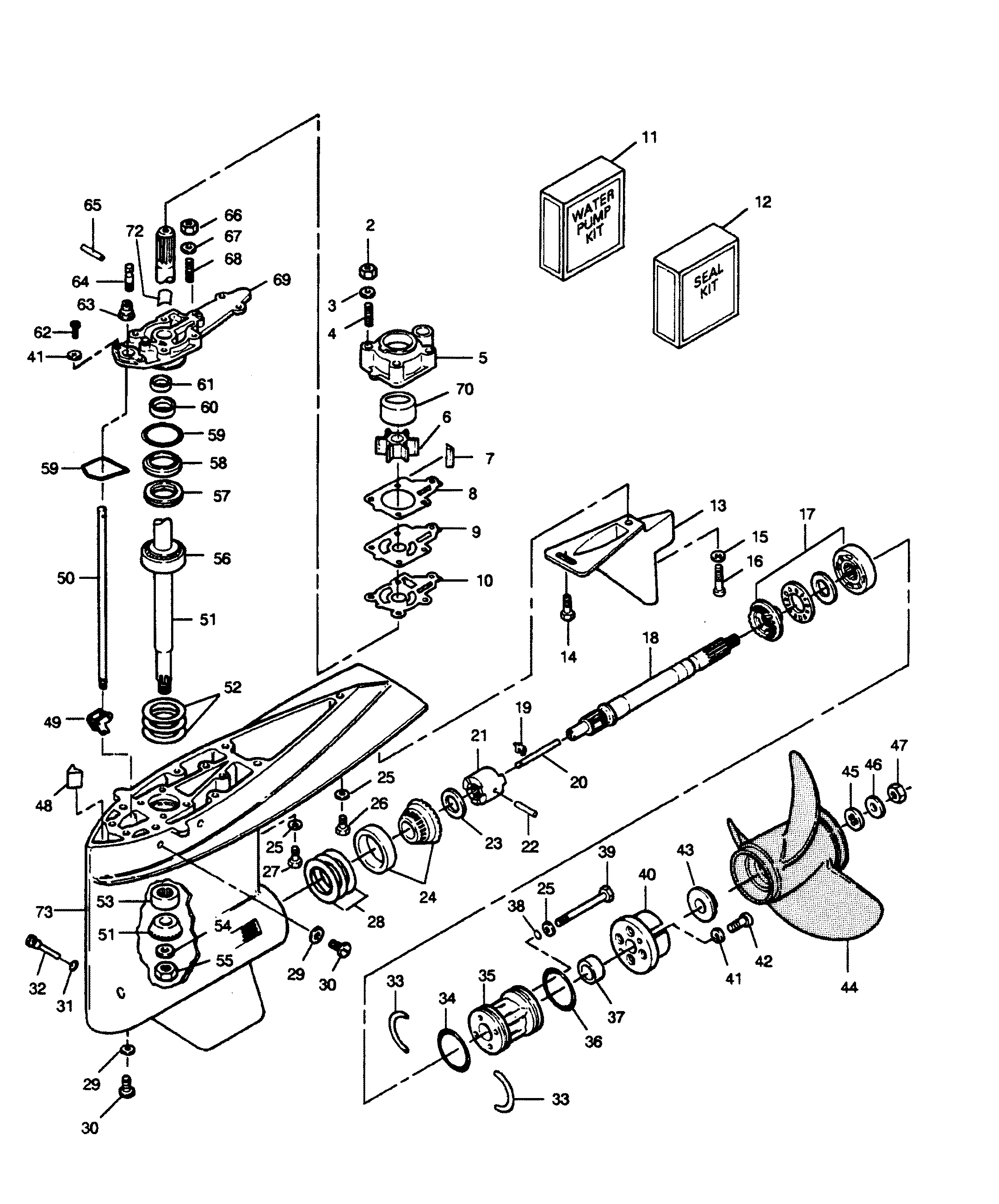 force 125 outboard engine diagram hiniker v
