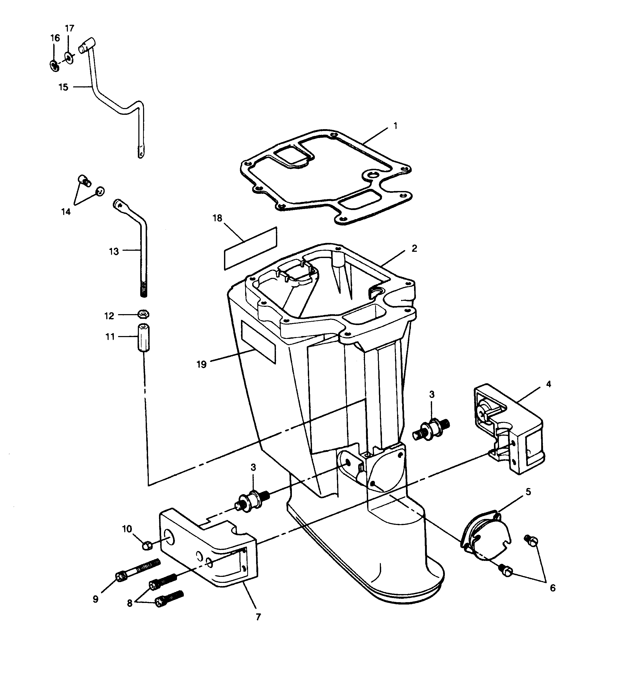 35 Hp Mercury Outboard Fuel System Diagram Schematic Diagrams Motor Wiring Force H P 1991 353f91a Leg 80