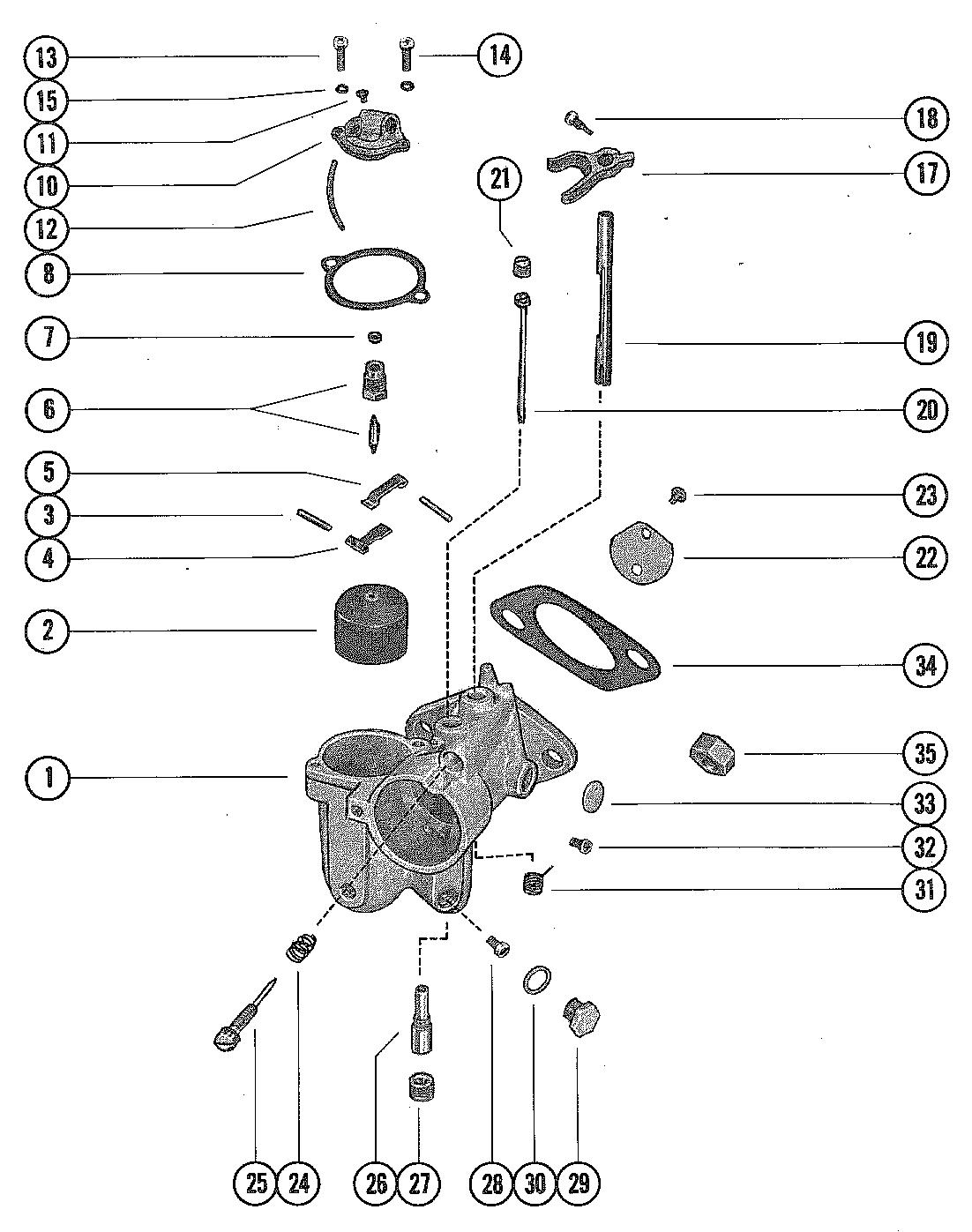 Mercury Outboard Engine Parts Diagram