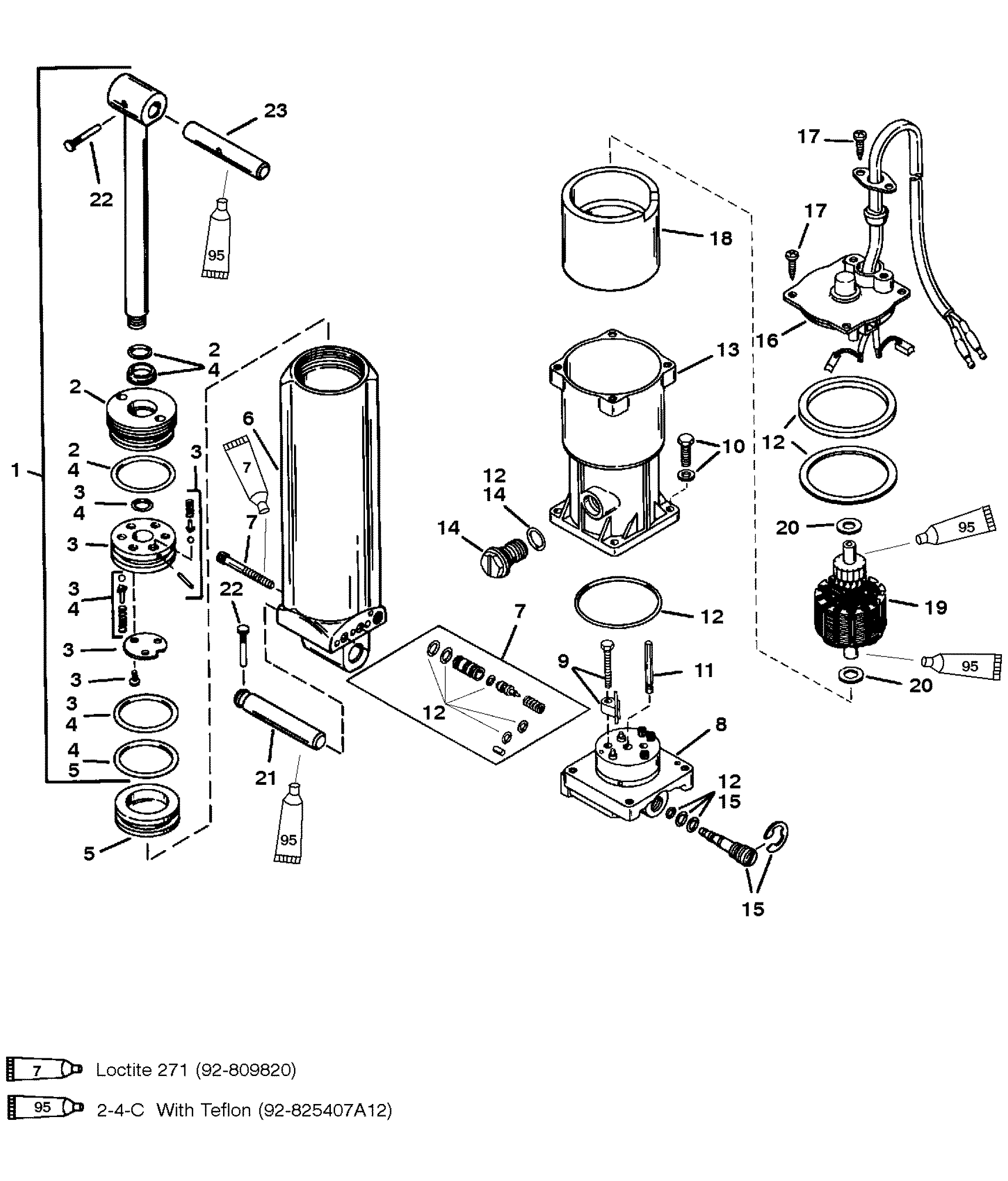 Mercruiser Tilt Trim Diagram Wiring Diagram Option