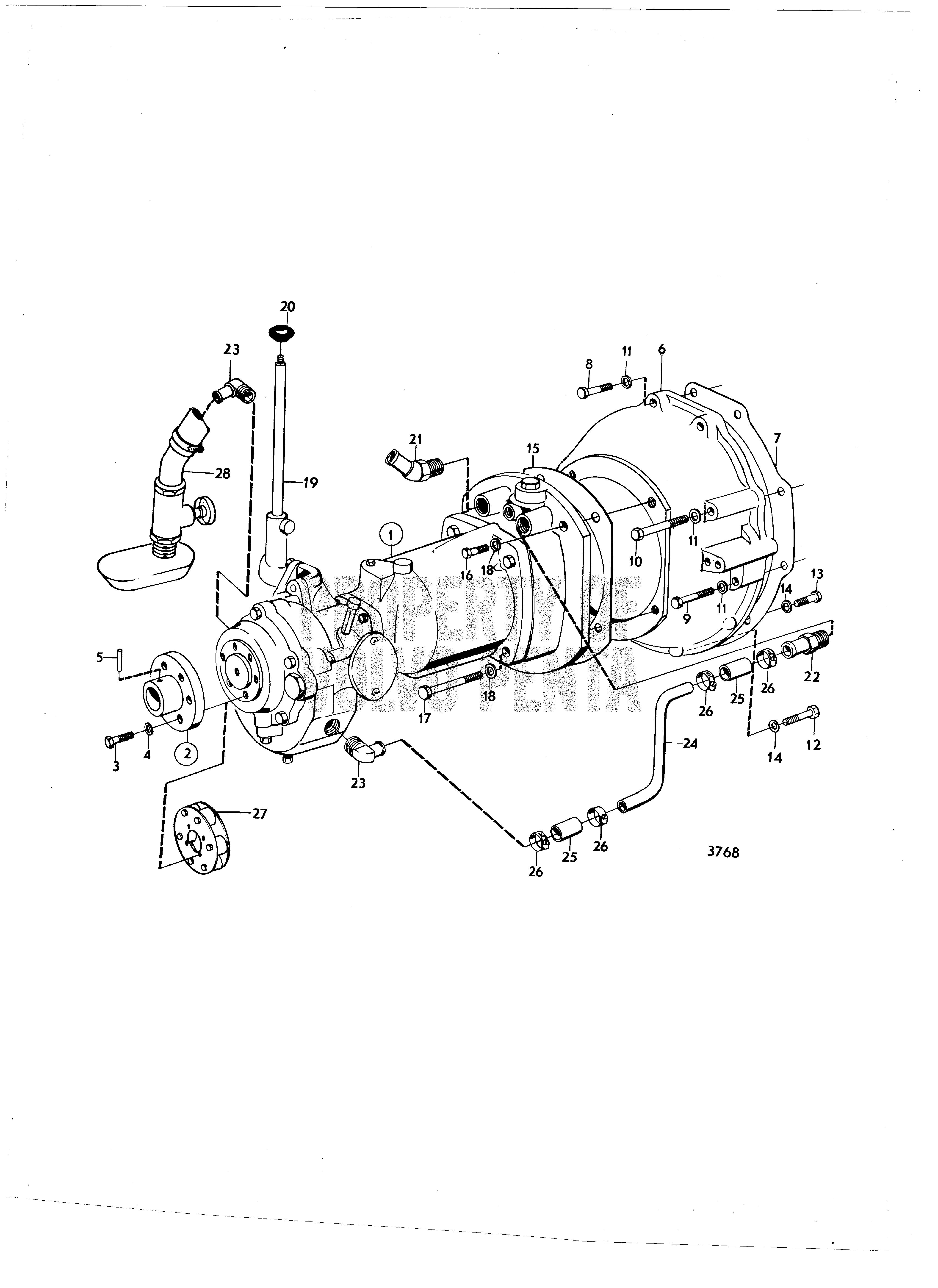 volvo marine wiring 3856600