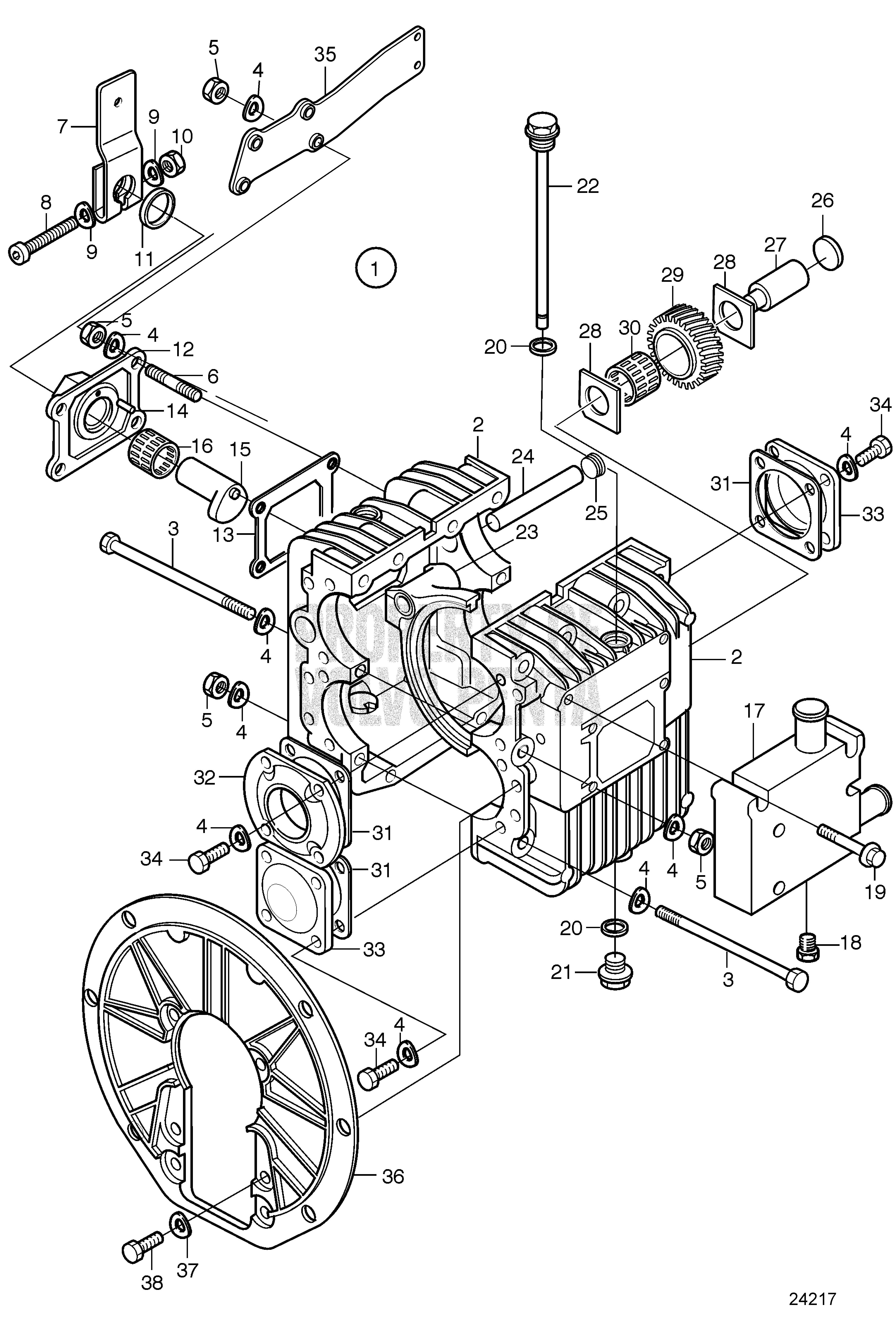 carburetor conversion volvo parts w does manifold apply itm not marine penta weber