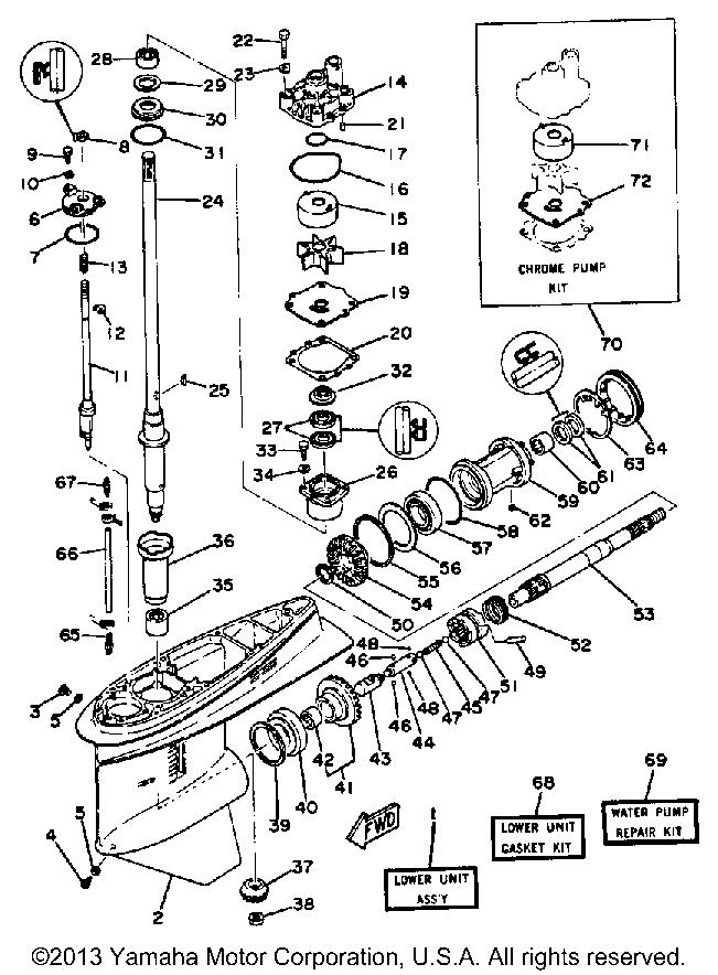 Yamaha F80 Outboard Wiring Diagram
