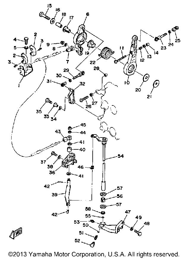 Yamaha Outboard 115 130 Etf Control Engine: Yamaha 50 Engine Diagram At Hrqsolutions.co