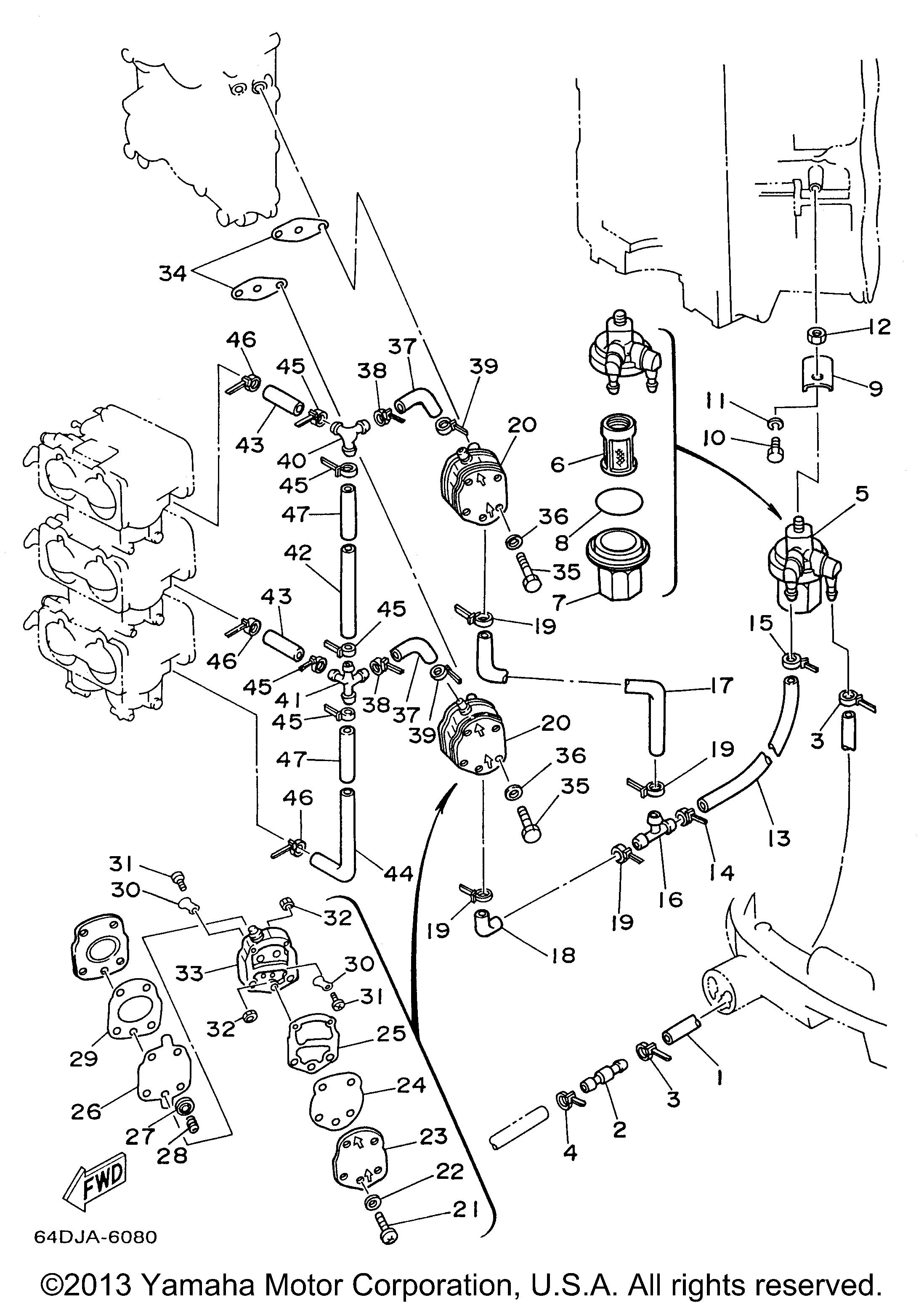 Yamaha | OUTBOARD | 150 HP | S150TXRX | FUEL 1 - Yamaha Outboard